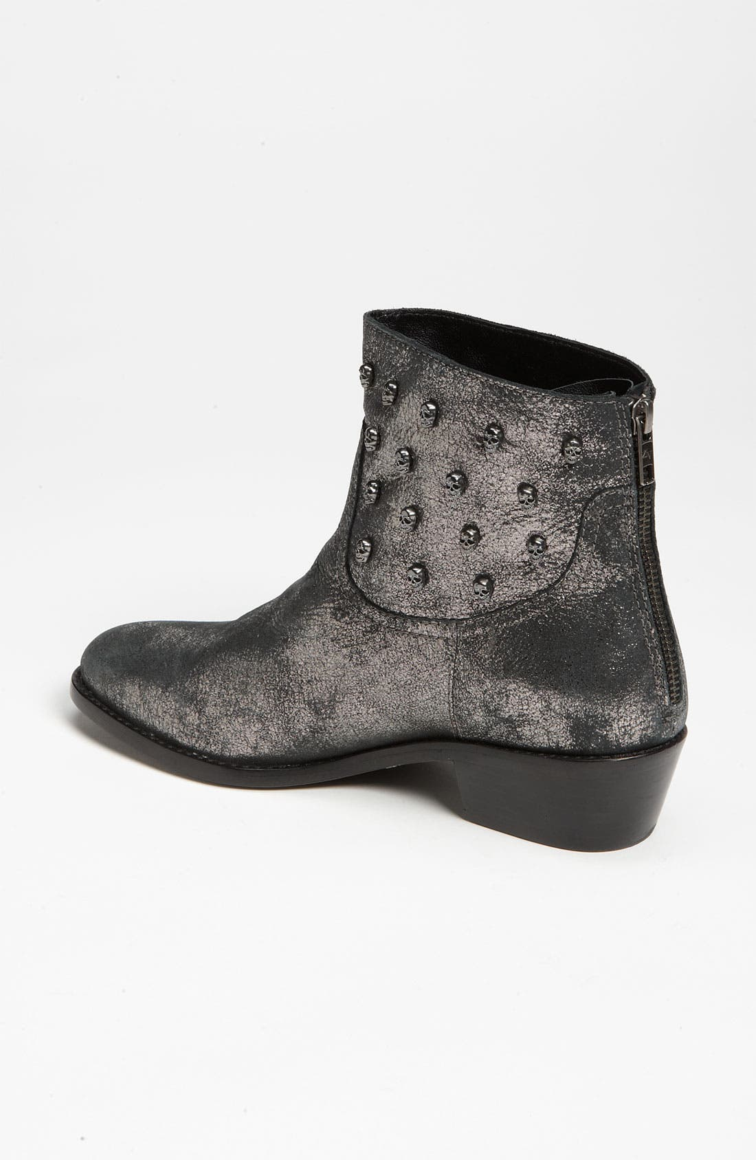 ZADIG & VOLTAIRE,                             'Teddy' Boot,                             Alternate thumbnail 4, color,                             001
