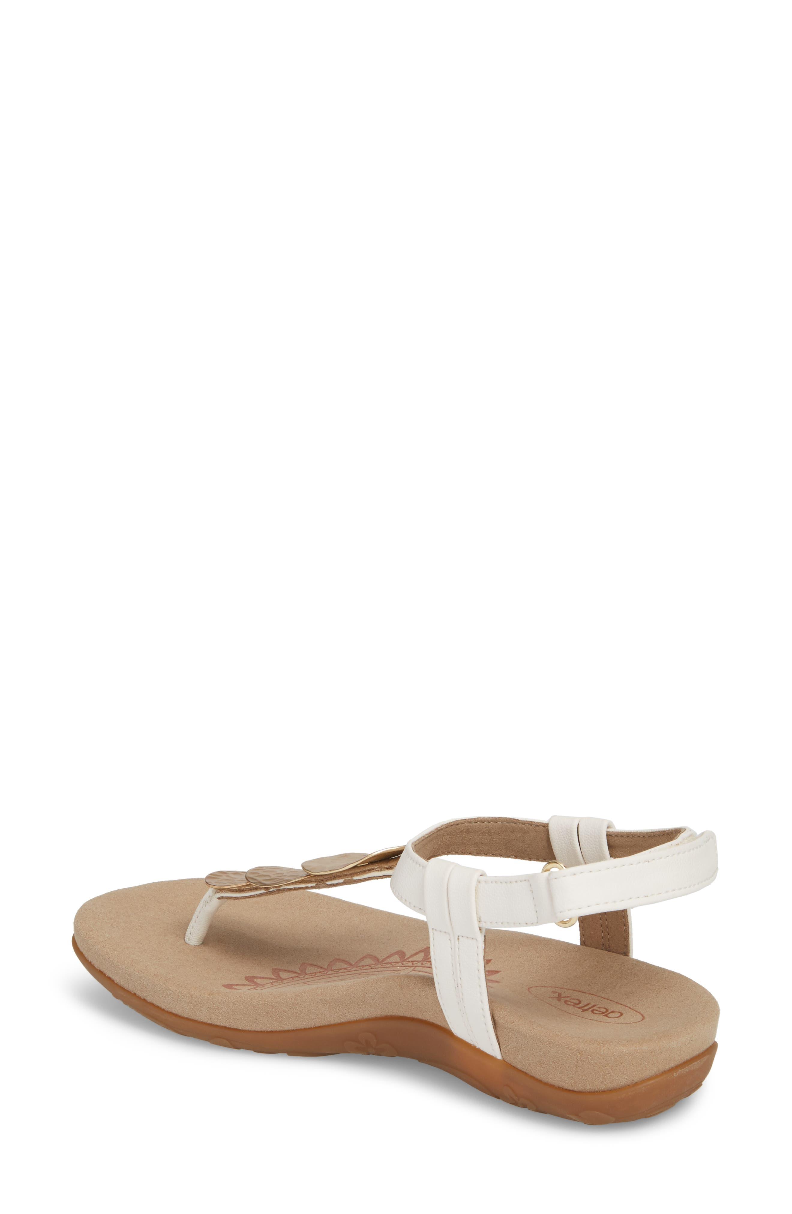 Olive T-Strap Sandal,                             Alternate thumbnail 5, color,