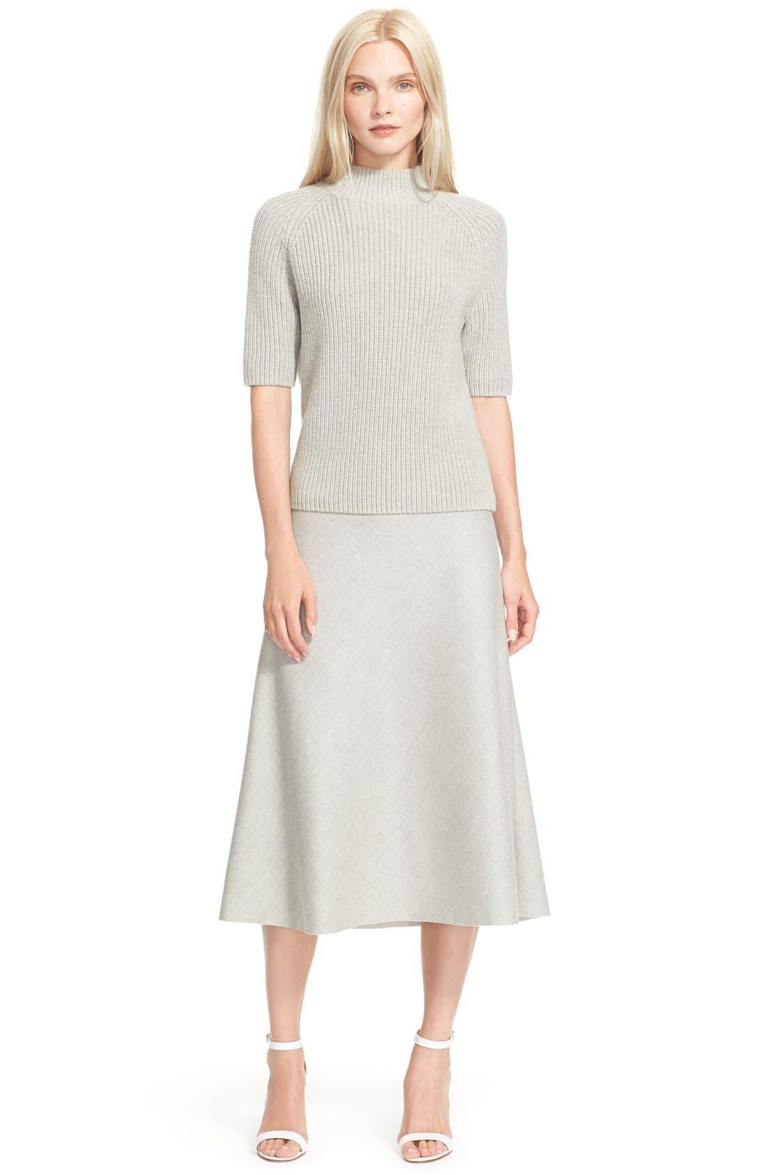 'Jahneem' Flannel Skirt,                             Alternate thumbnail 2, color,                             050