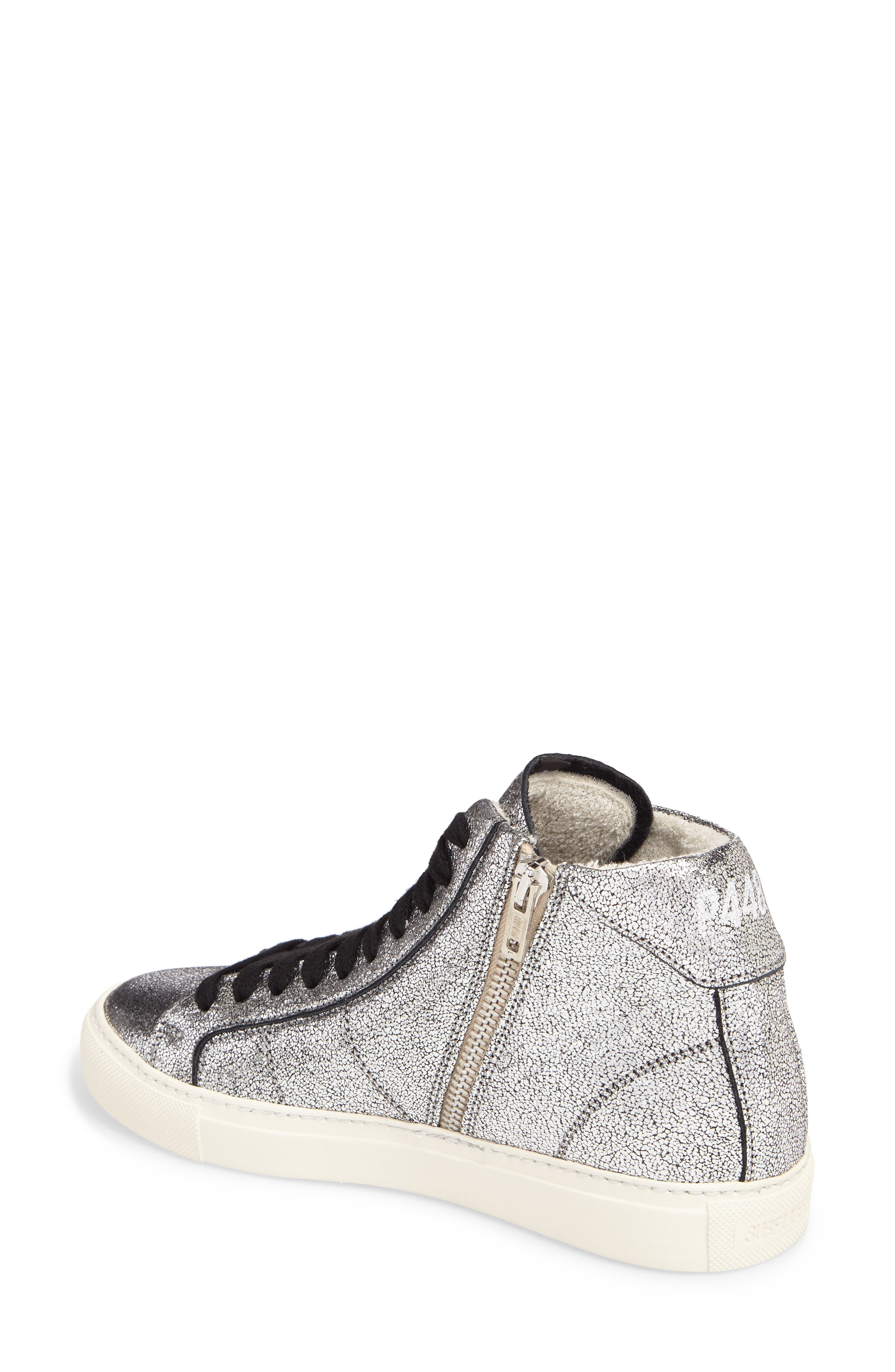 Star 2.0 Sneaker,                             Alternate thumbnail 2, color,                             SILVER LEATHER