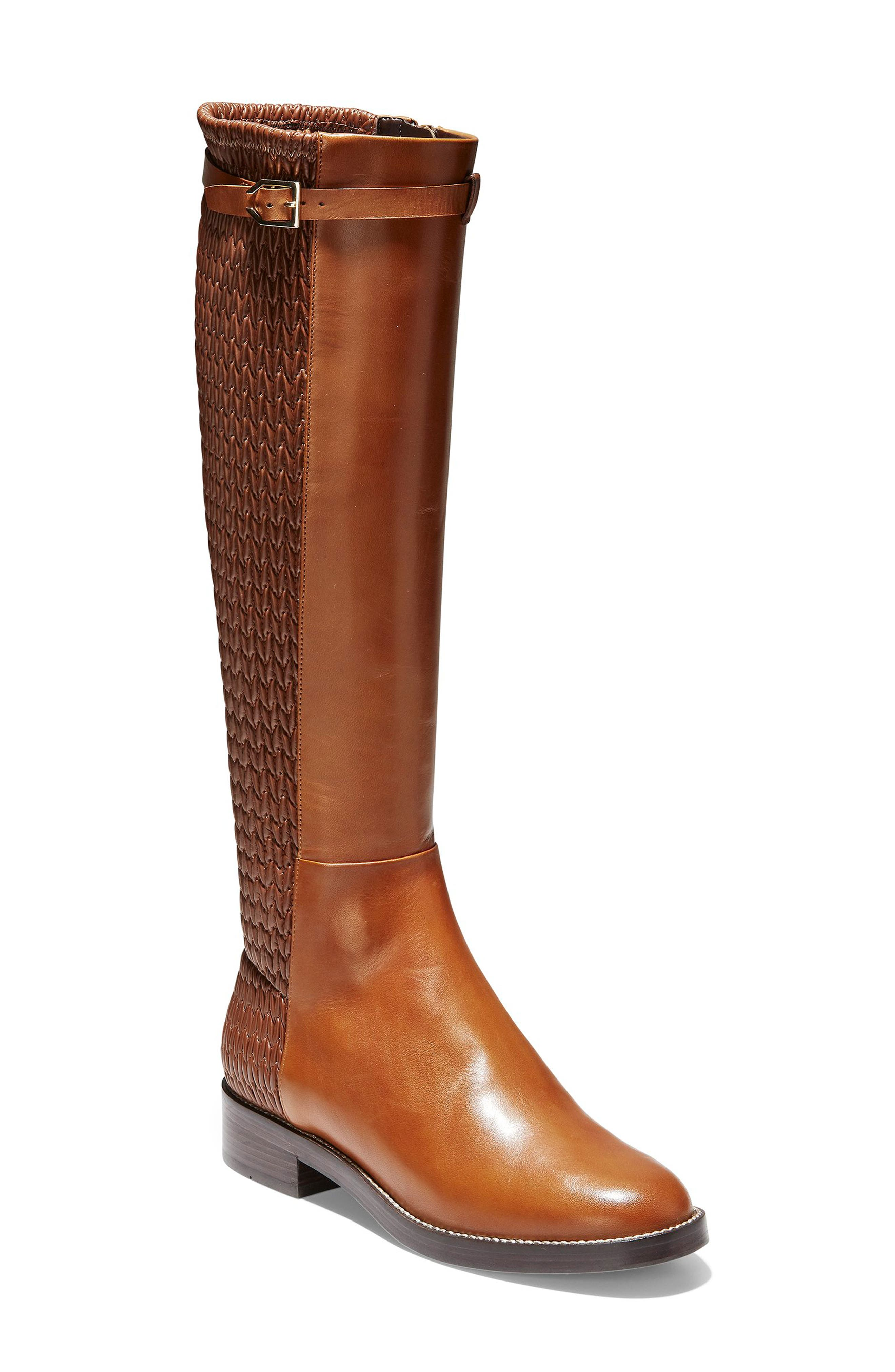 7655b1a0306 Vintage Boots- Winter Rain and Snow Boots Womens Cole Haan Lexi Grand Knee  High Stretch