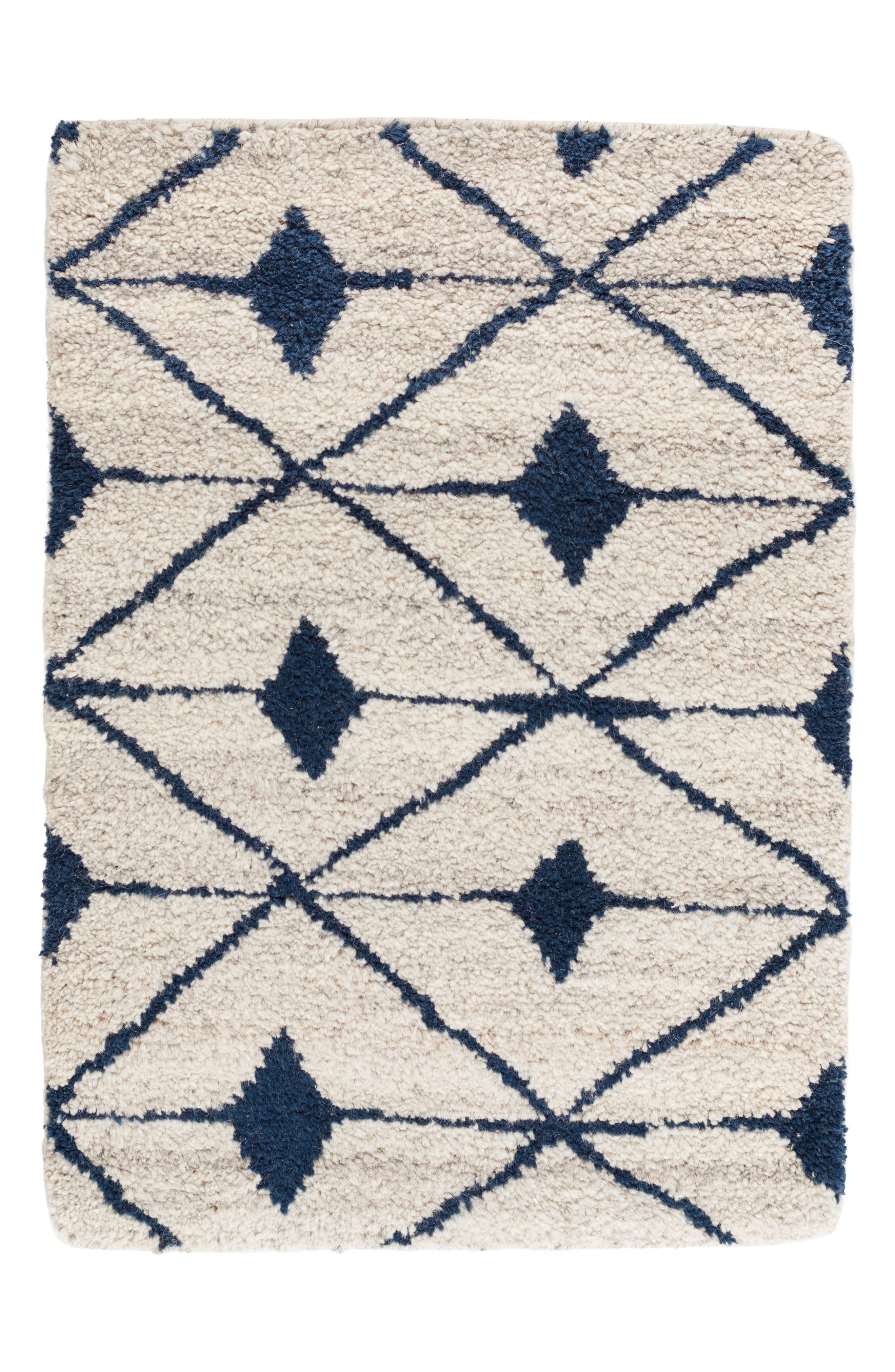 Kenitra Hand Knotted Rug,                         Main,                         color, INDIGO