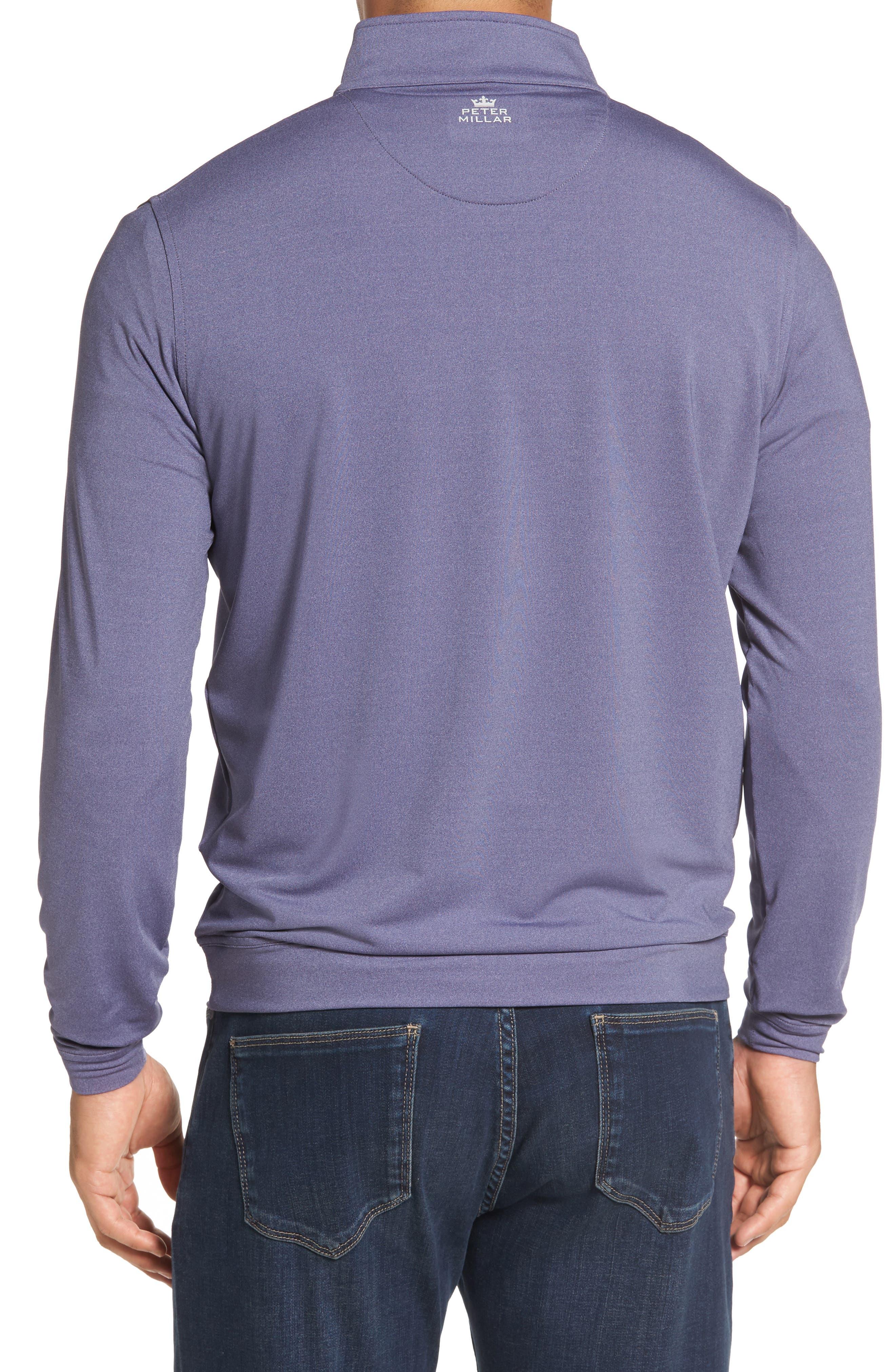 Perth Quarter Zip Stretch Pullover,                             Alternate thumbnail 9, color,