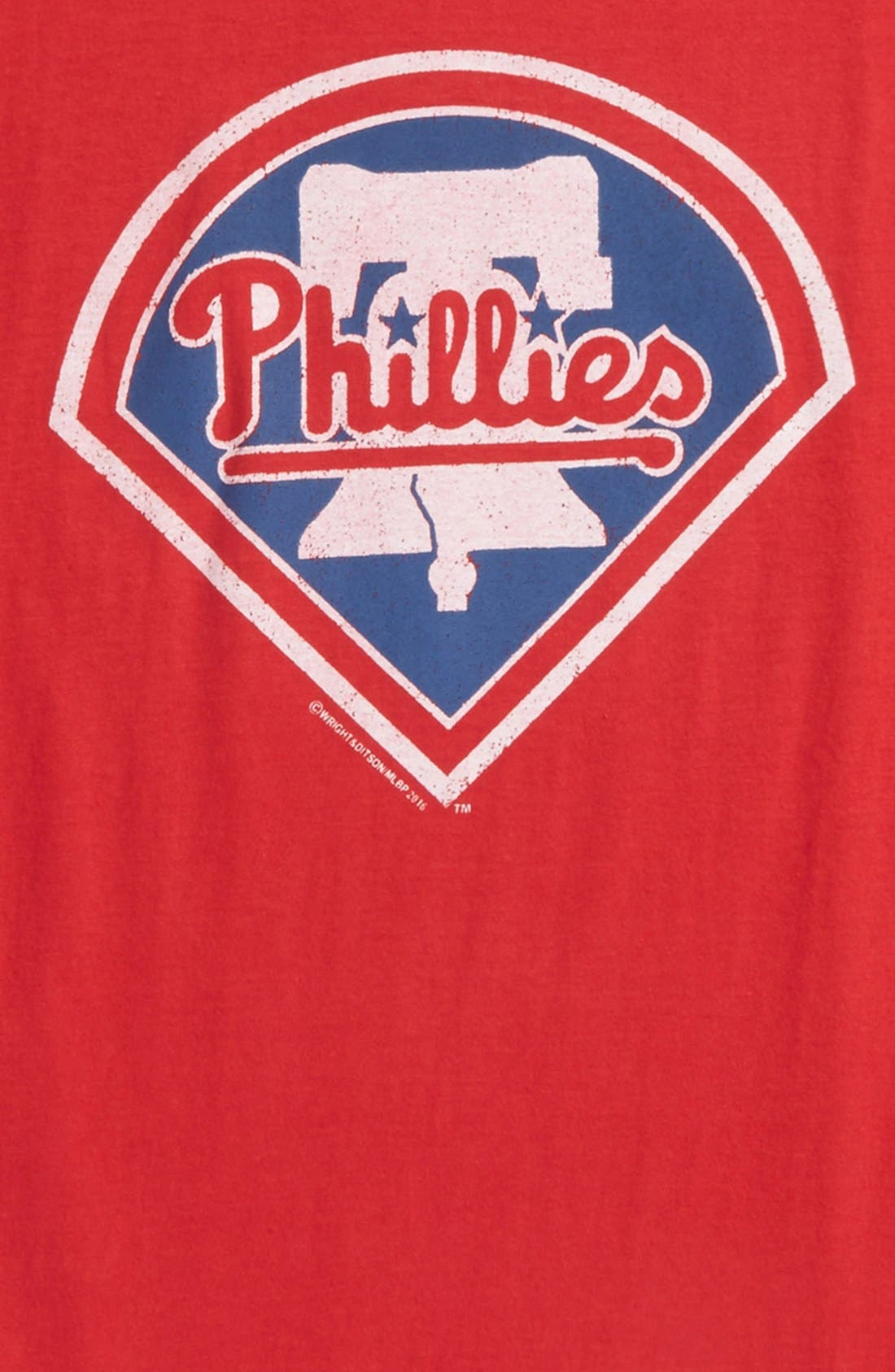 'Philadelphia Phillies' T-Shirt,                             Alternate thumbnail 2, color,                             600