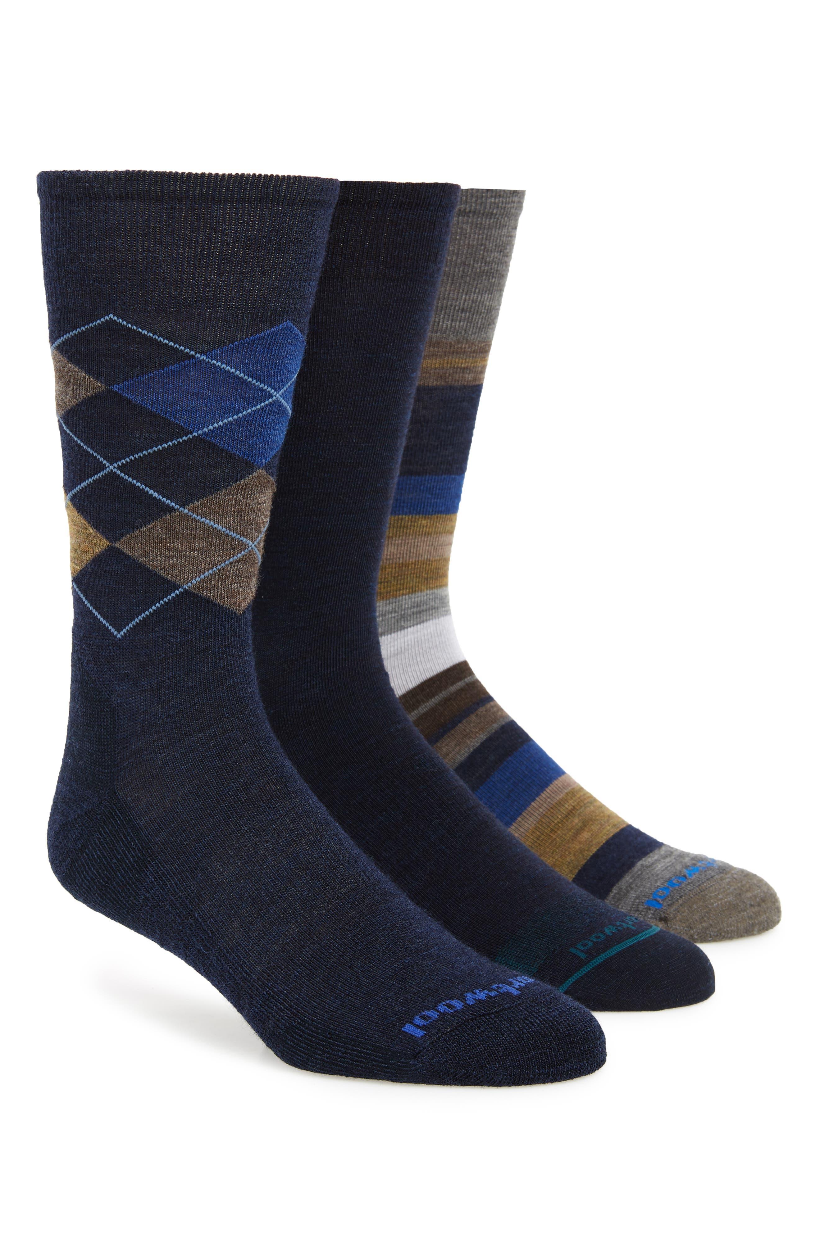 3-Pack Socks,                         Main,                         color, 400