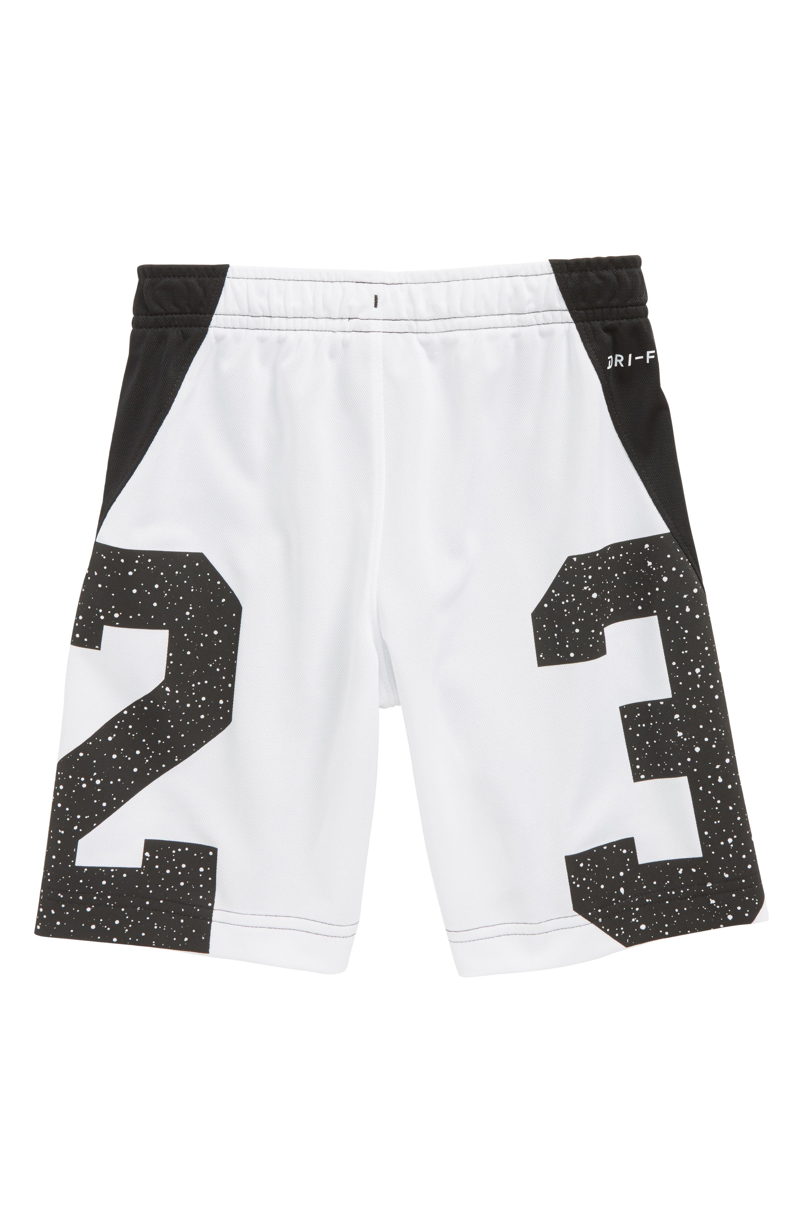 Jordan Dry Speckle 23 Training Shorts,                             Alternate thumbnail 2, color,                             001