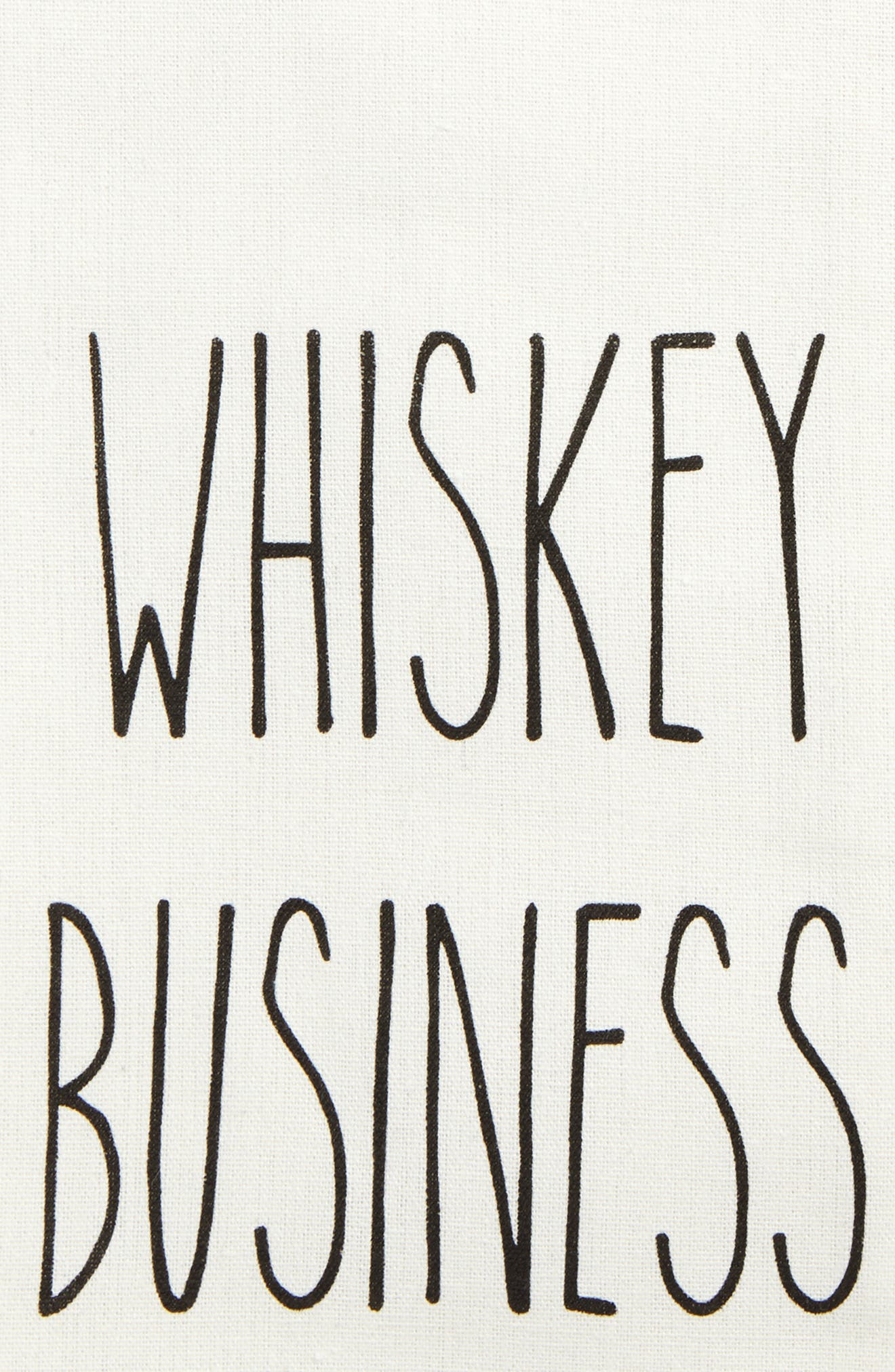 Whiskey Business Set of 2 Dishtowels,                             Alternate thumbnail 2, color,                             001