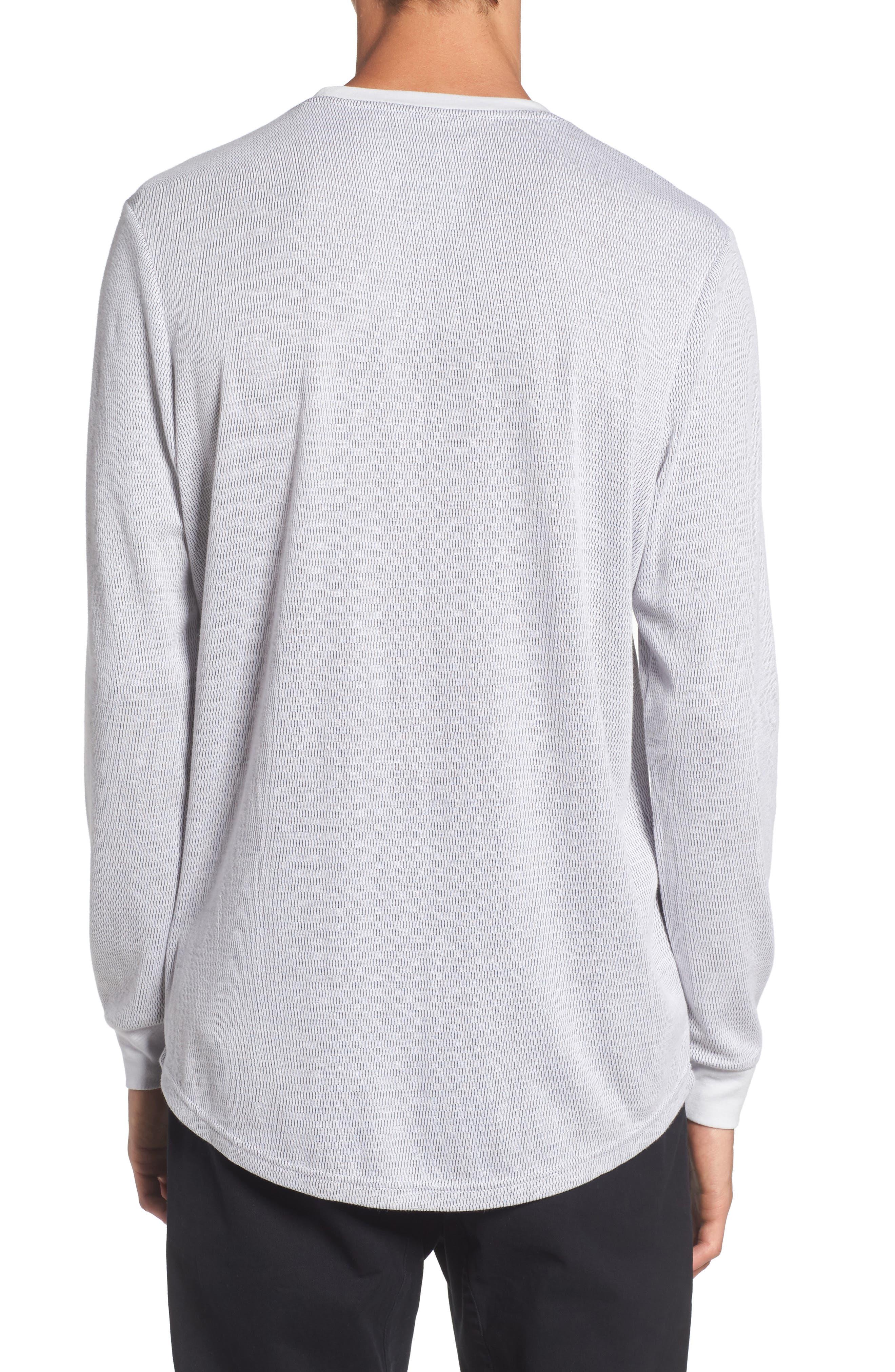Longline Thermal T-Shirt,                             Alternate thumbnail 5, color,