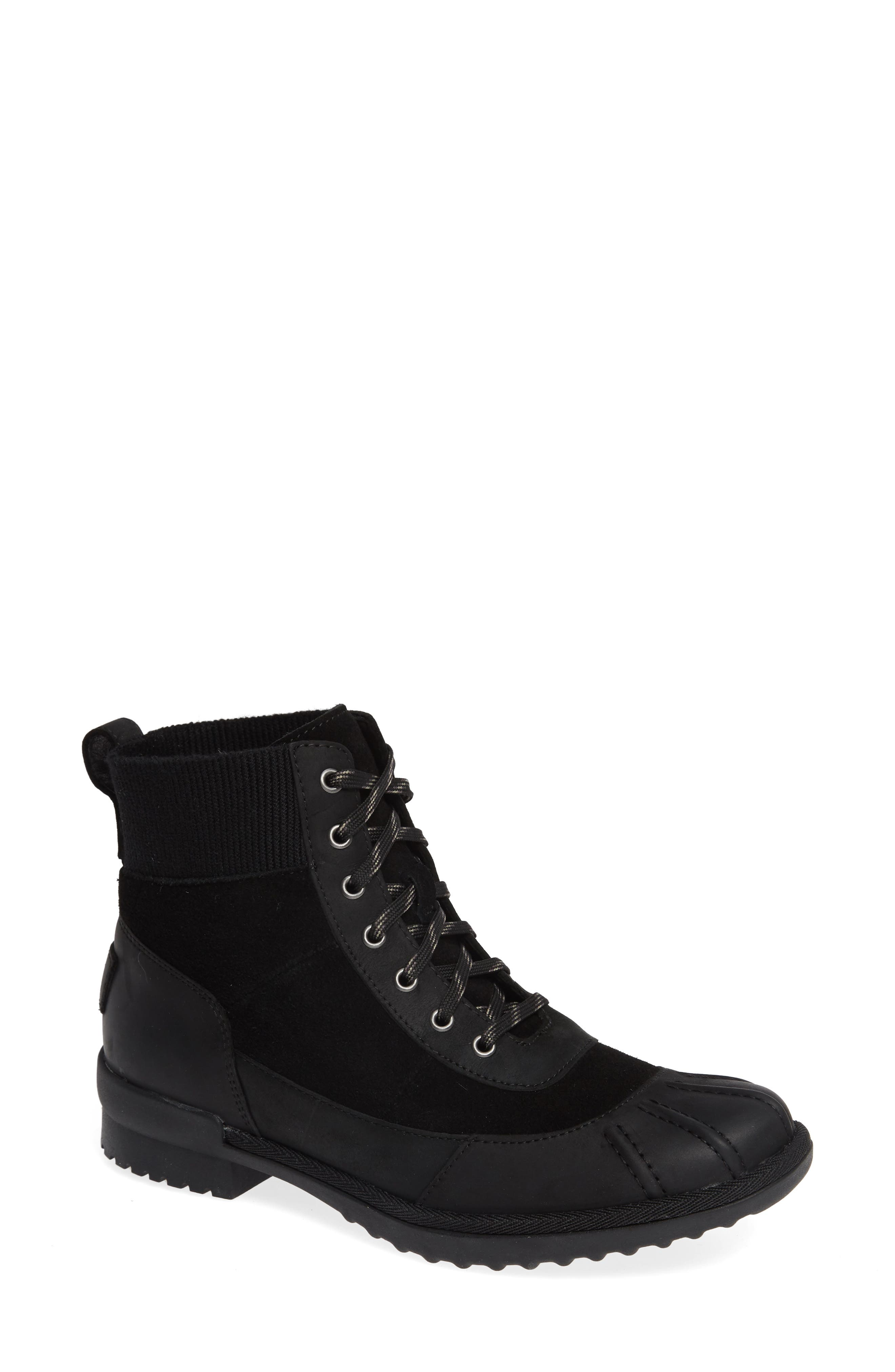 Ugg Cayli Waterproof Duck Boot- Black