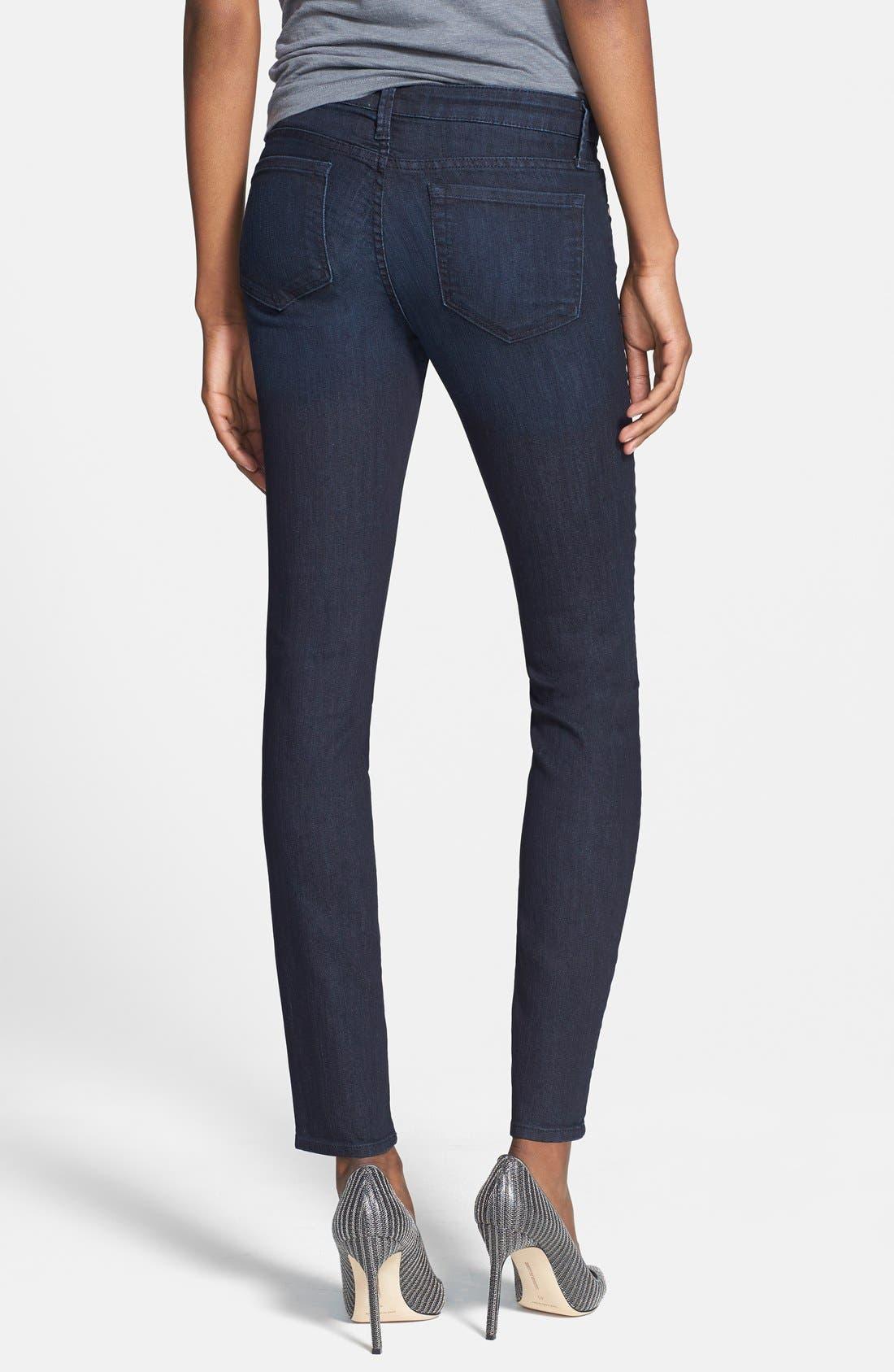 Low Rise Skinny Jeans,                             Alternate thumbnail 9, color,