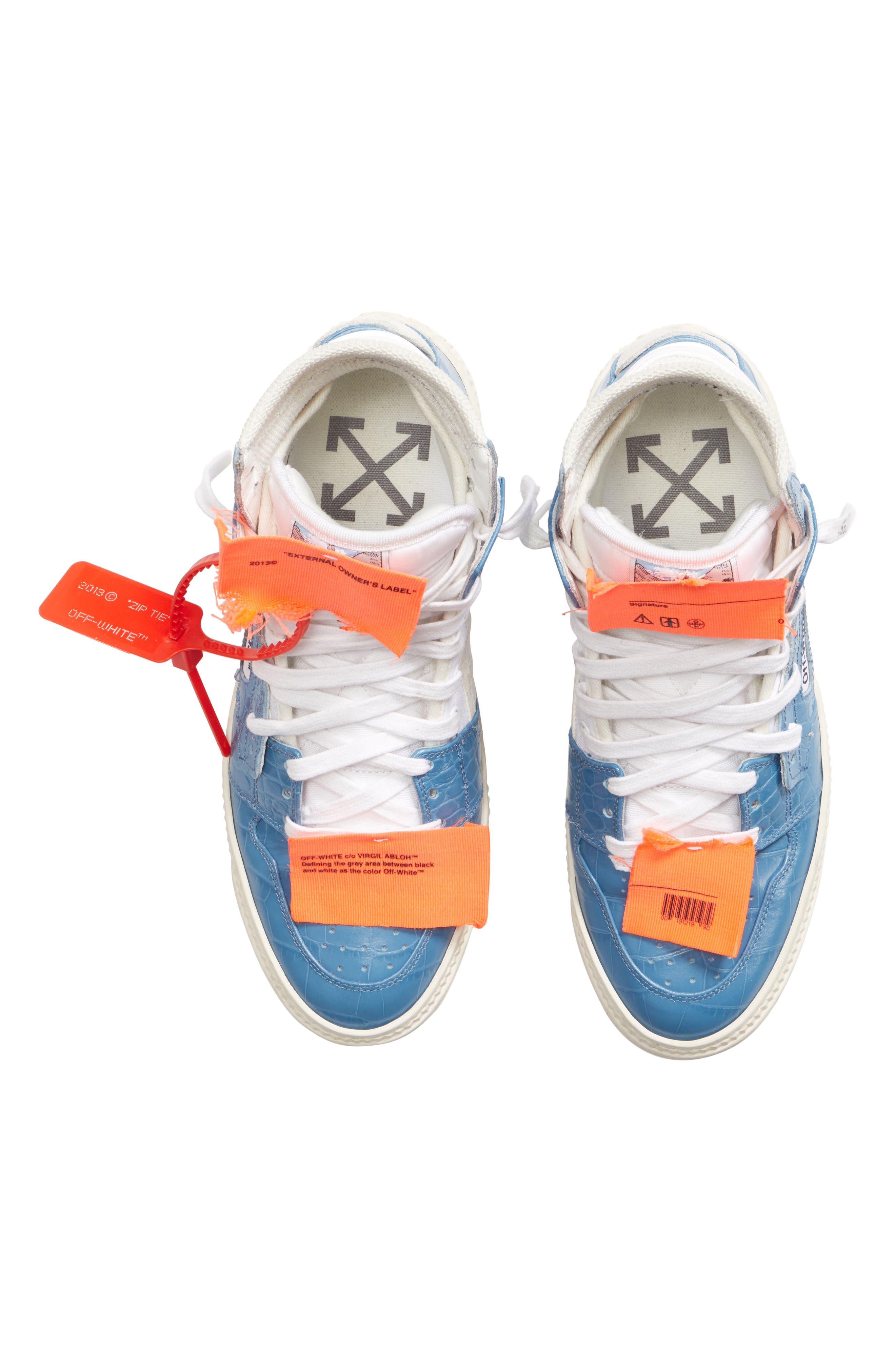 Low 3.0 Sneaker,                             Alternate thumbnail 5, color,                             BLUE NO COLOR