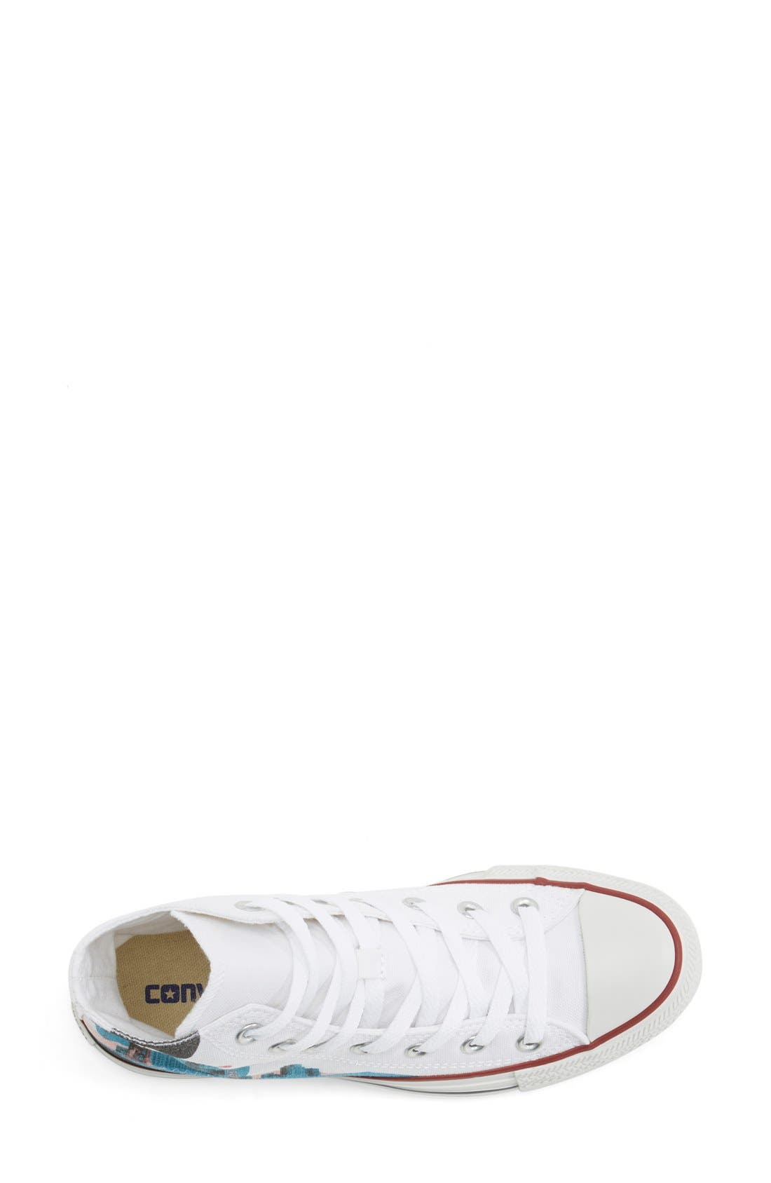 Chuck Taylor<sup>®</sup> All Star<sup>®</sup> 'Made By You - San Francisco' High Top Sneaker,                             Alternate thumbnail 2, color,                             102