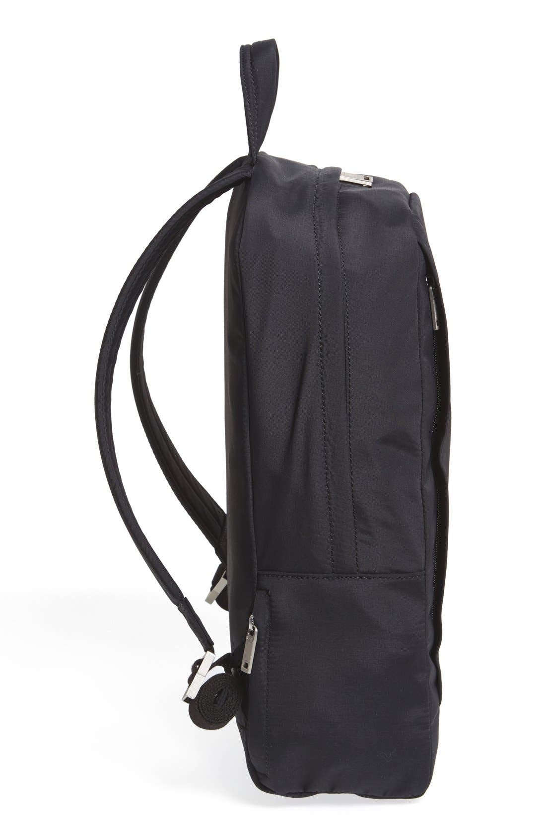JACK SPADE,                             'Tech' Nylon Backpack,                             Alternate thumbnail 6, color,                             001
