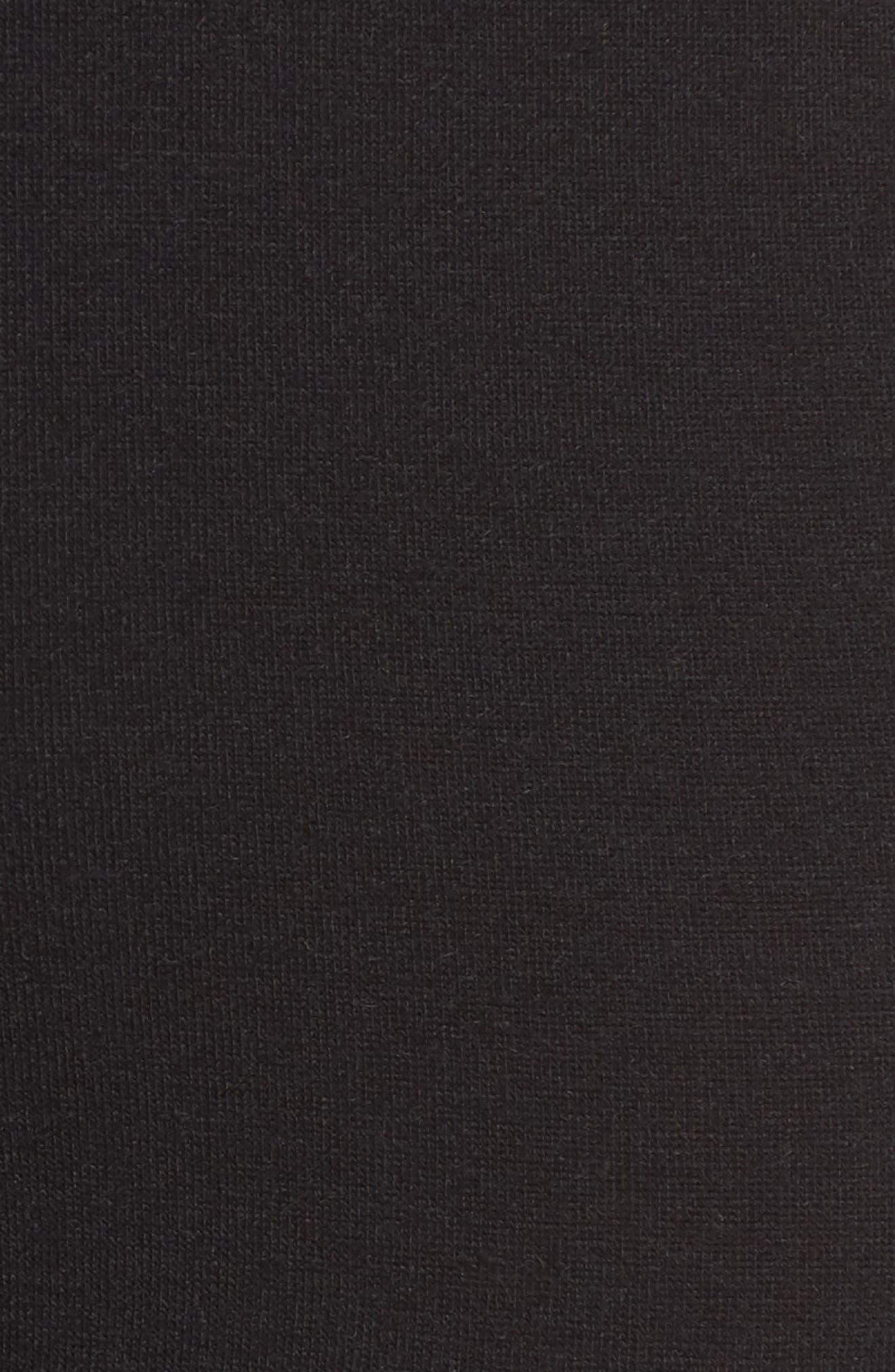 Knit Leggings,                             Alternate thumbnail 5, color,                             001