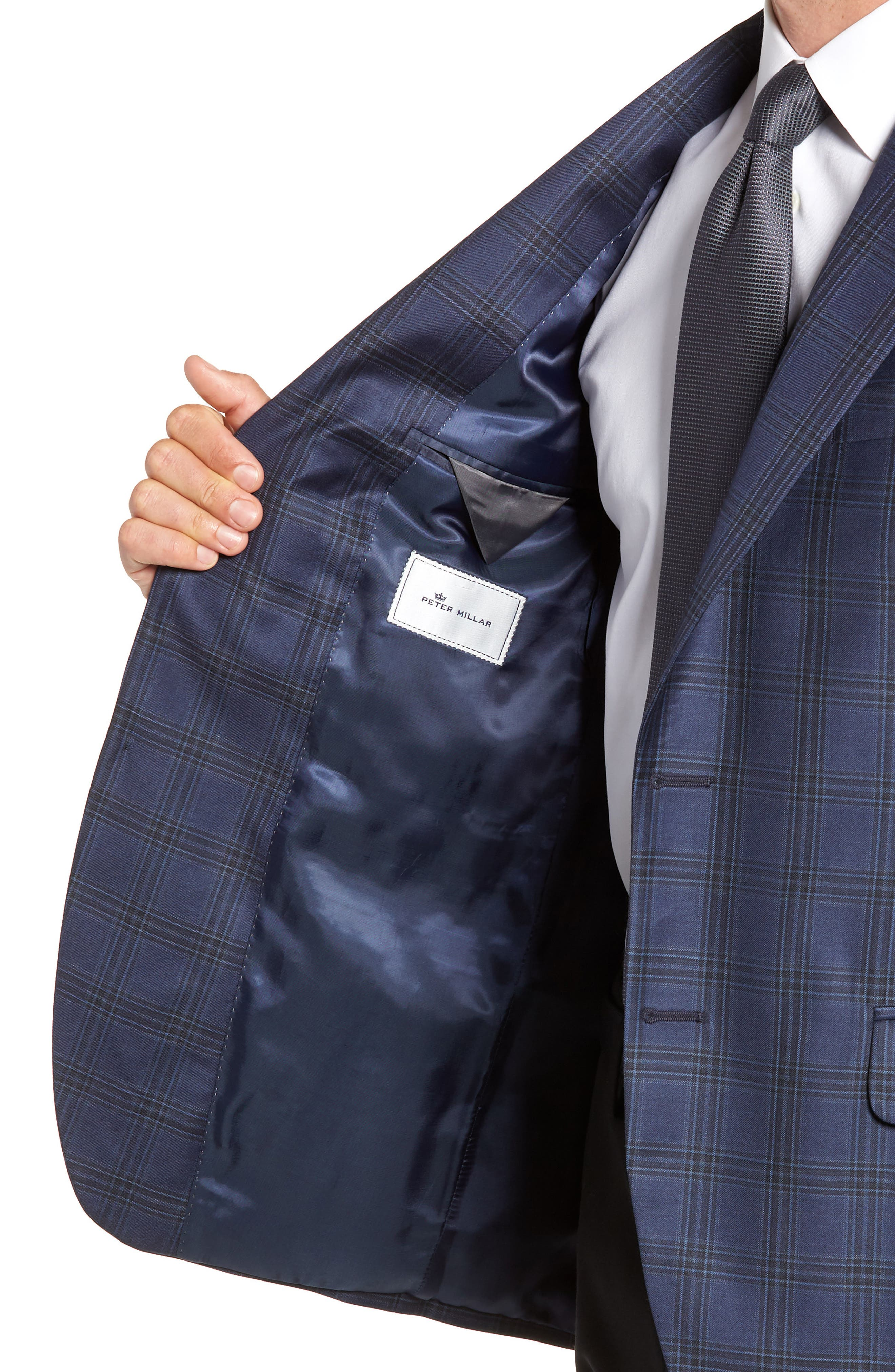 Flynn Classic Fit Wool Sport Coat,                             Alternate thumbnail 4, color,                             410