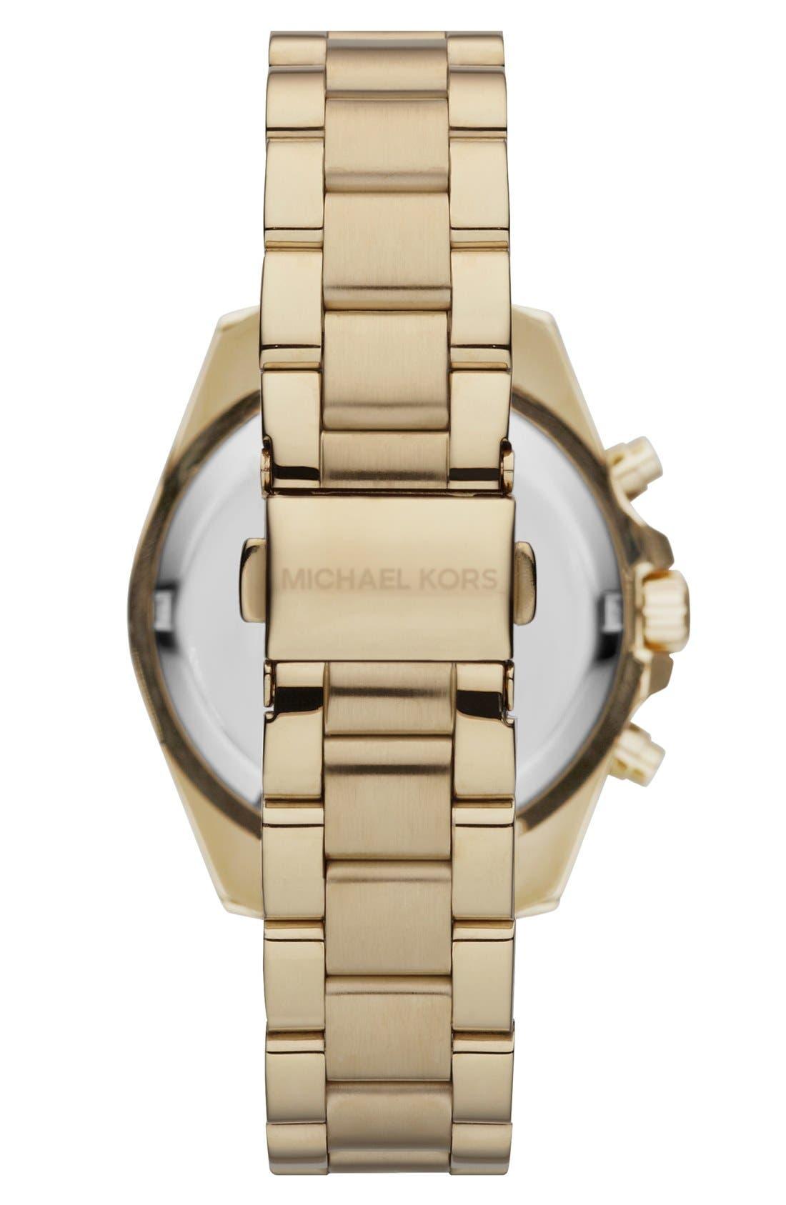 'Bradshaw - Mini' Chronograph Bracelet Watch, 36mm,                             Alternate thumbnail 7, color,