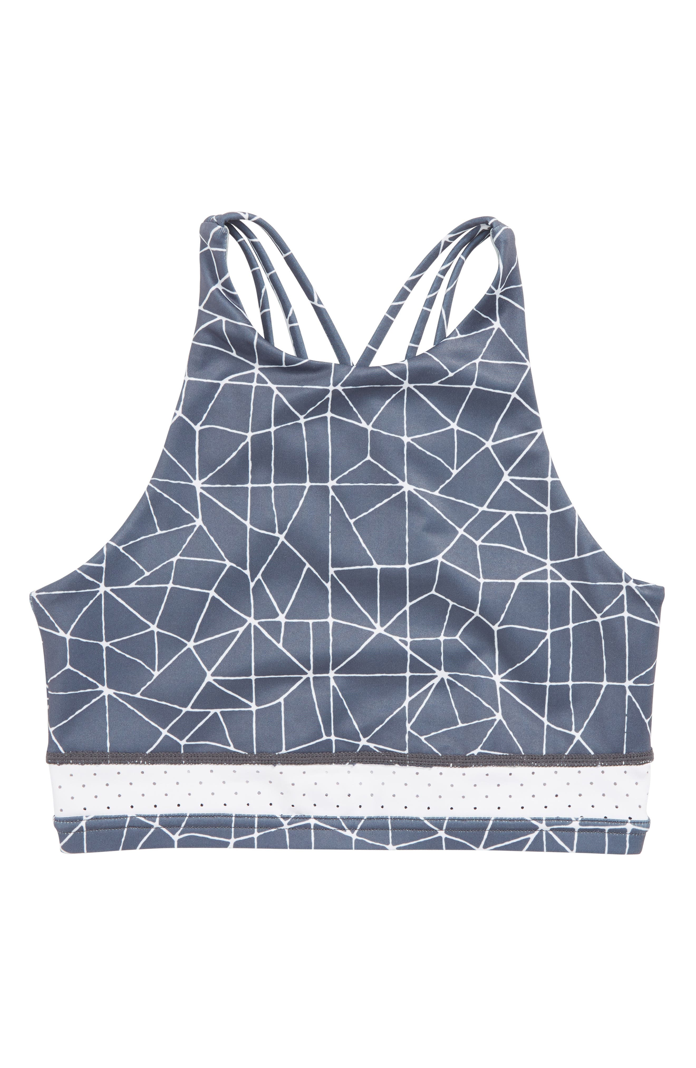 Strappy Racerback Sports Bra,                             Main thumbnail 1, color,                             021