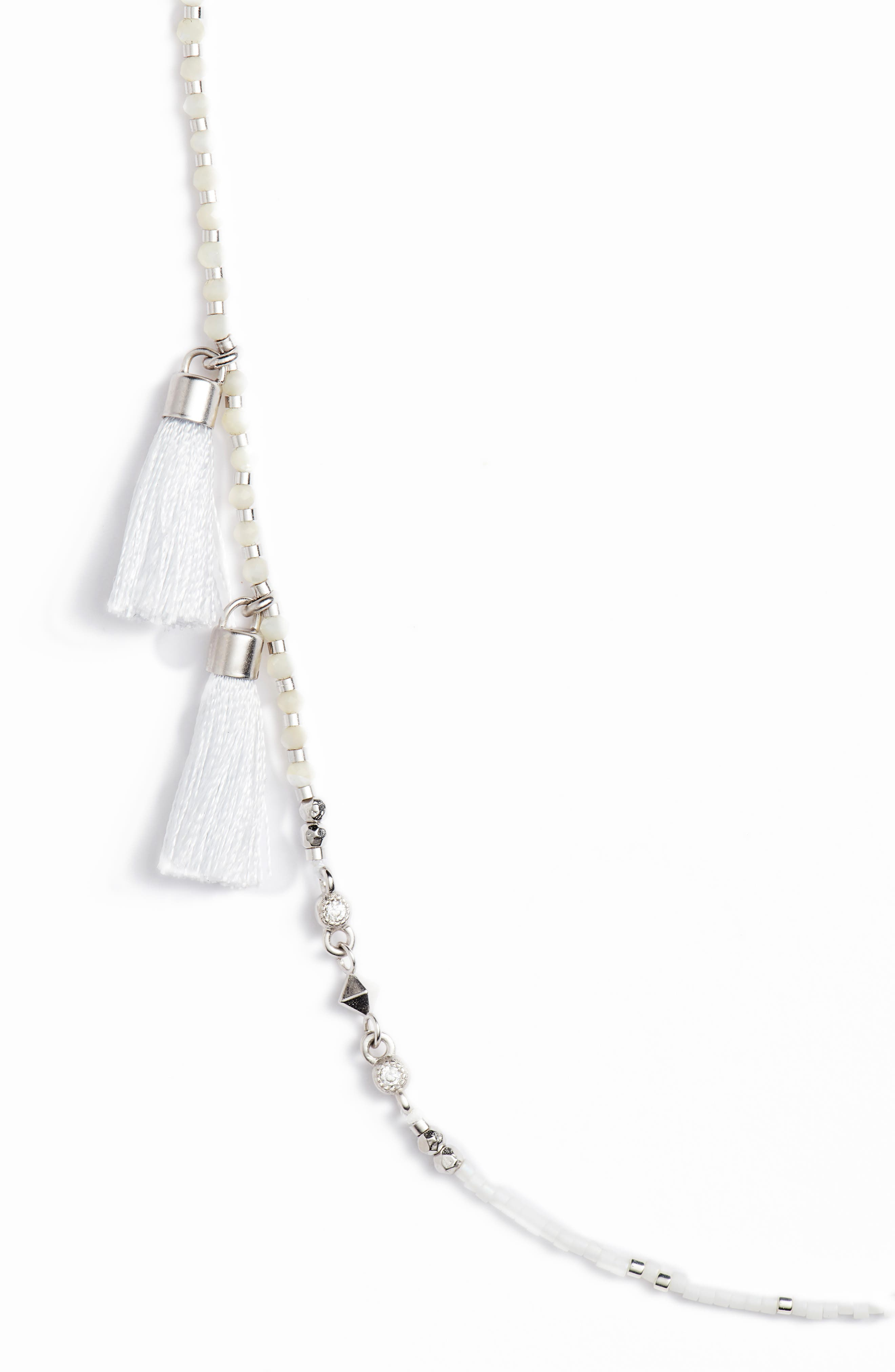 Augusta Tassel Necklace,                             Alternate thumbnail 2, color,                             100