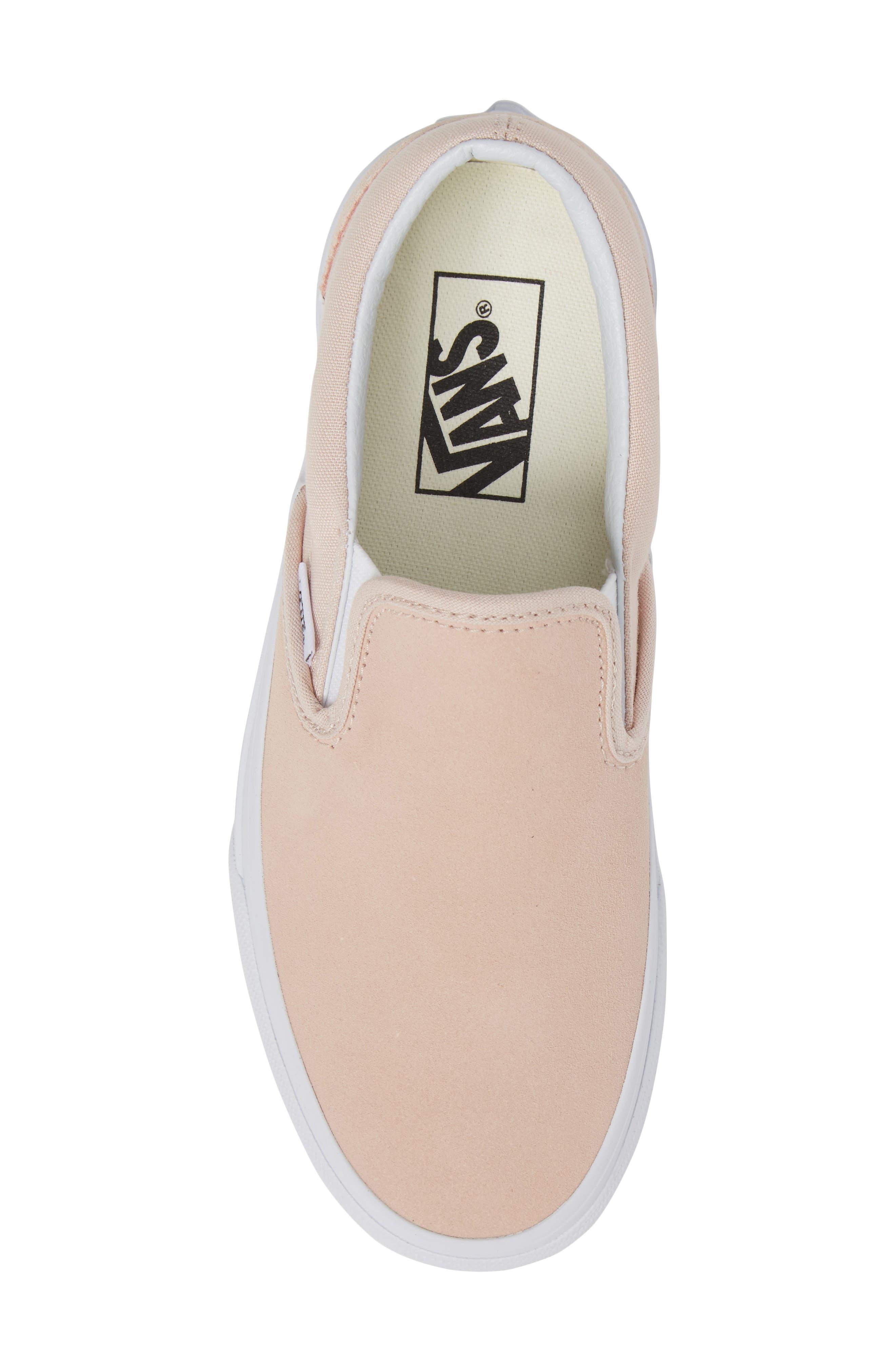 Classic Slip-On Sneaker,                             Alternate thumbnail 410, color,