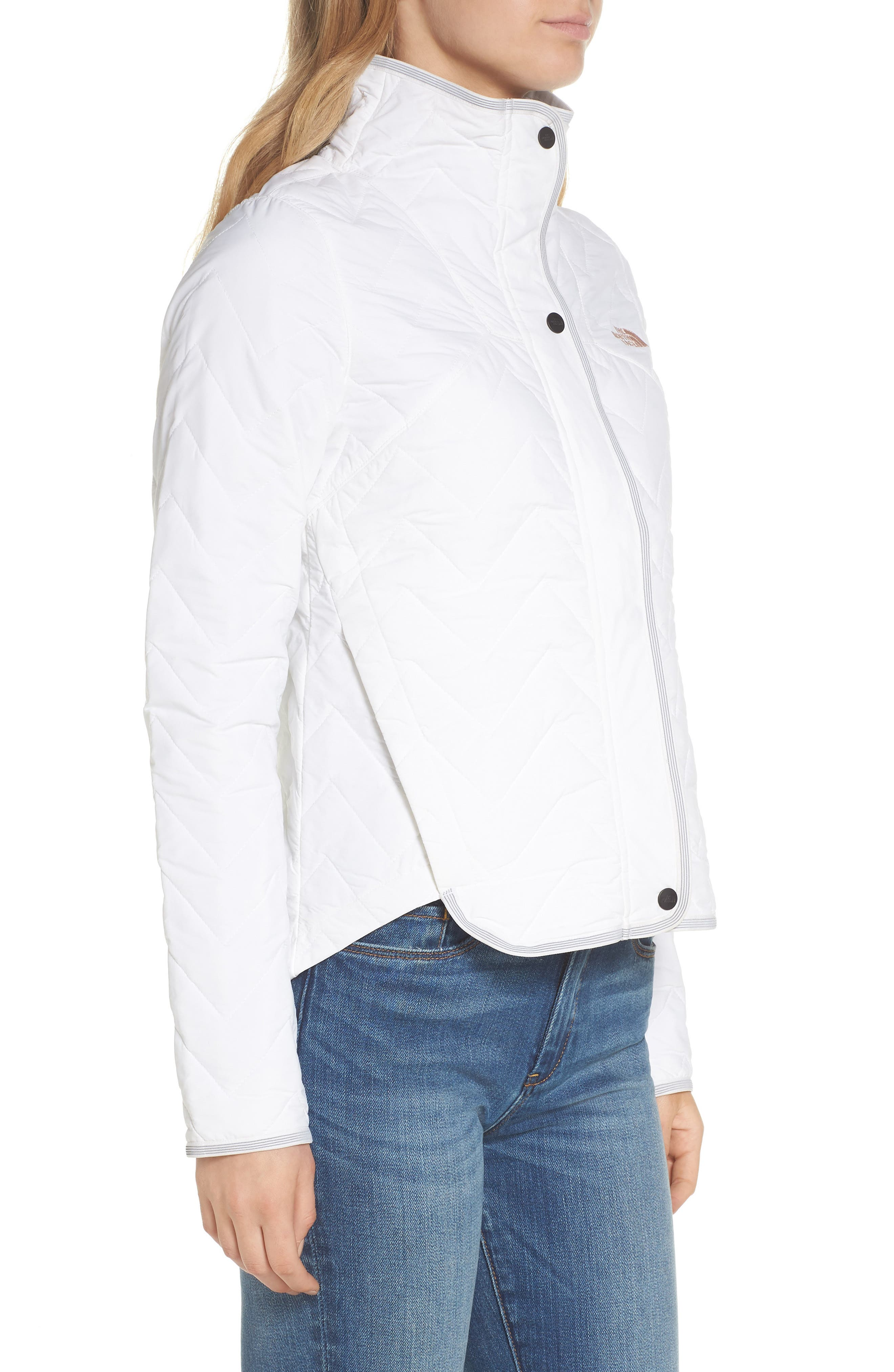 Westborough Insulated Jacket,                             Alternate thumbnail 3, color,                             BRIGHT WHITE