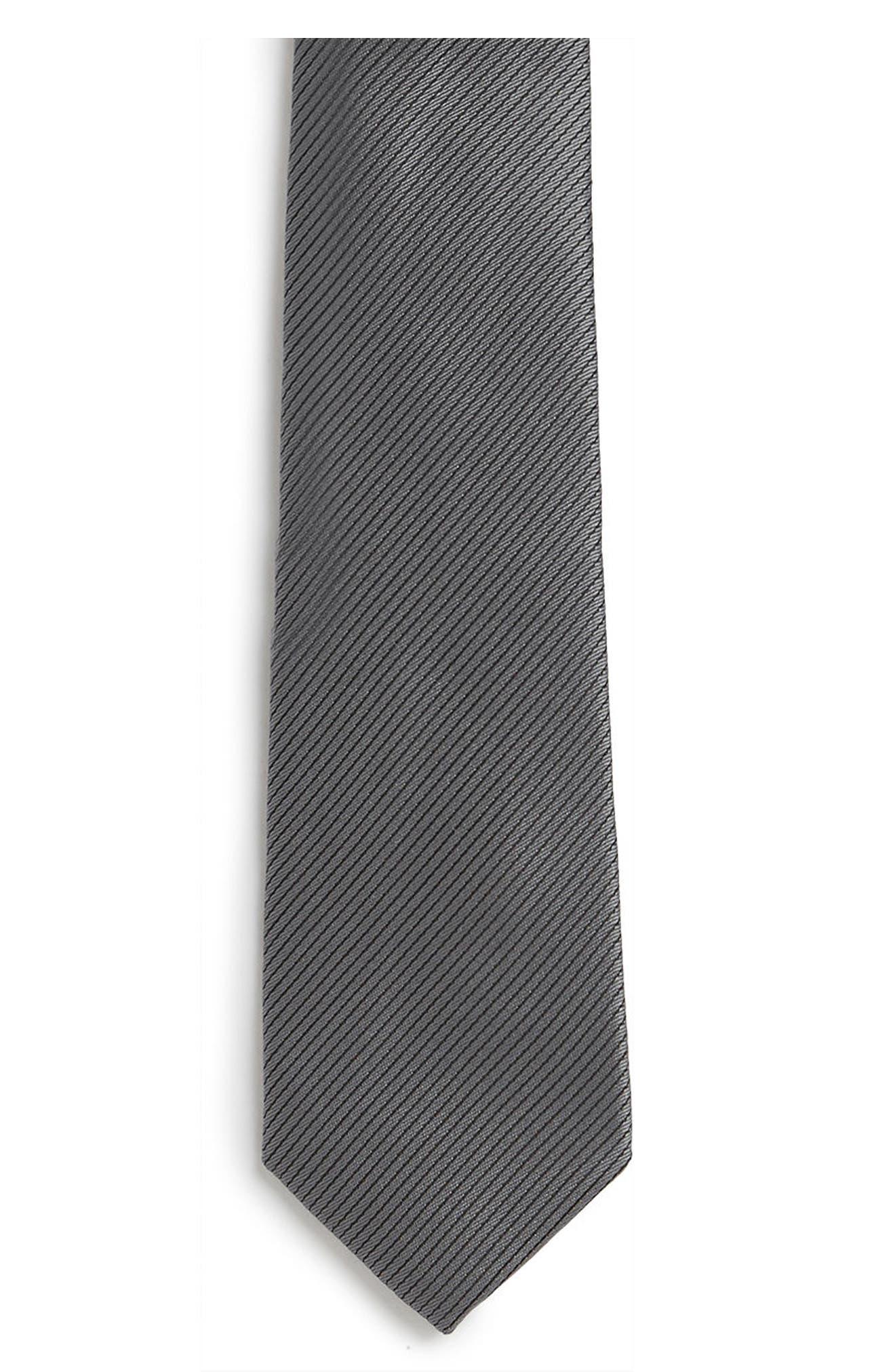 Slim Stripe Tie,                             Alternate thumbnail 2, color,                             021