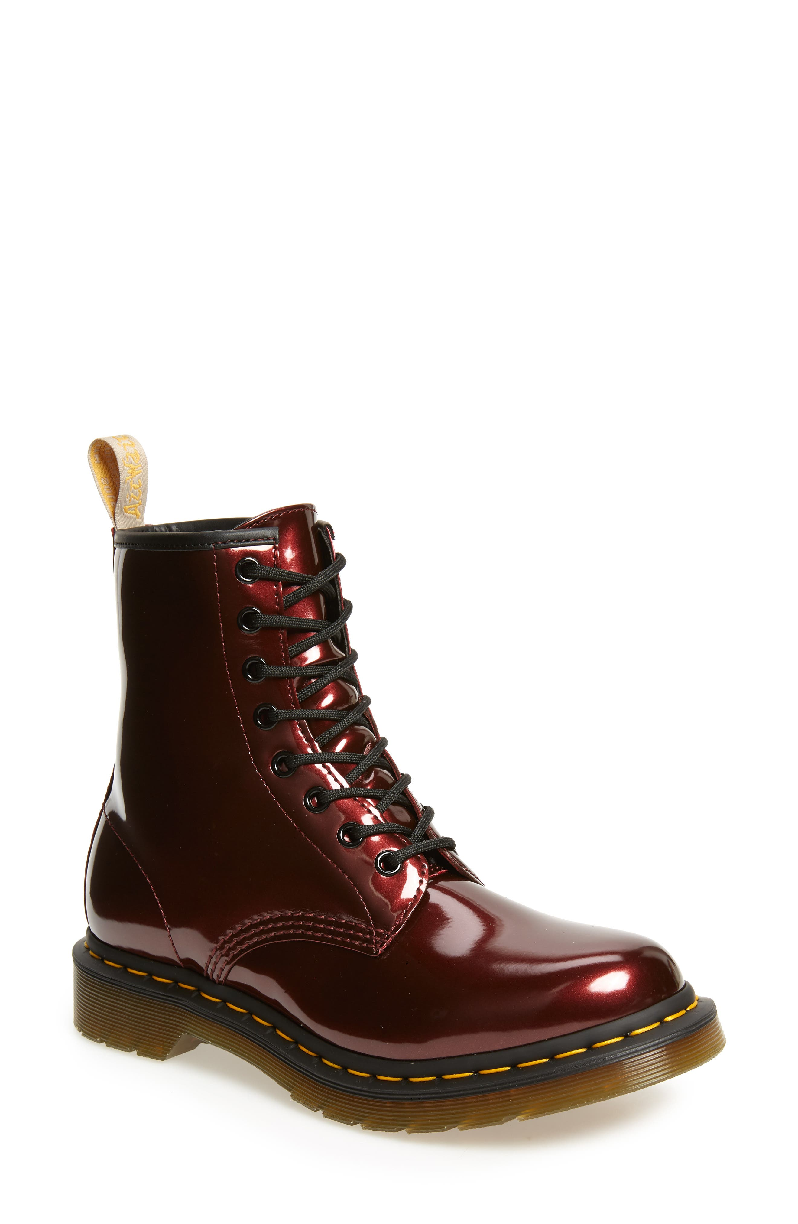 1460 Chrome Boot,                         Main,                         color, OXBLOOD