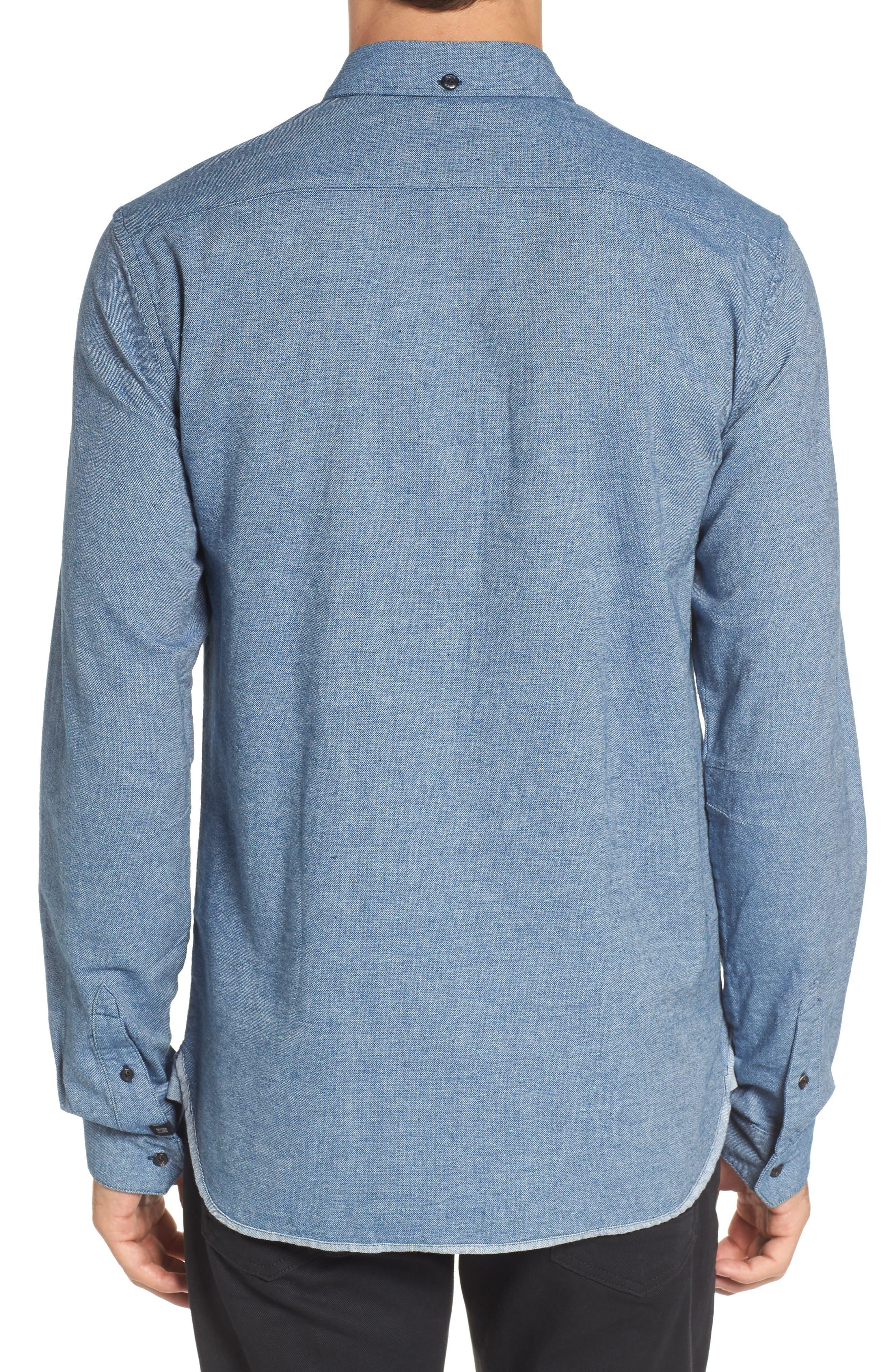 Chambray Shirt,                             Alternate thumbnail 4, color,