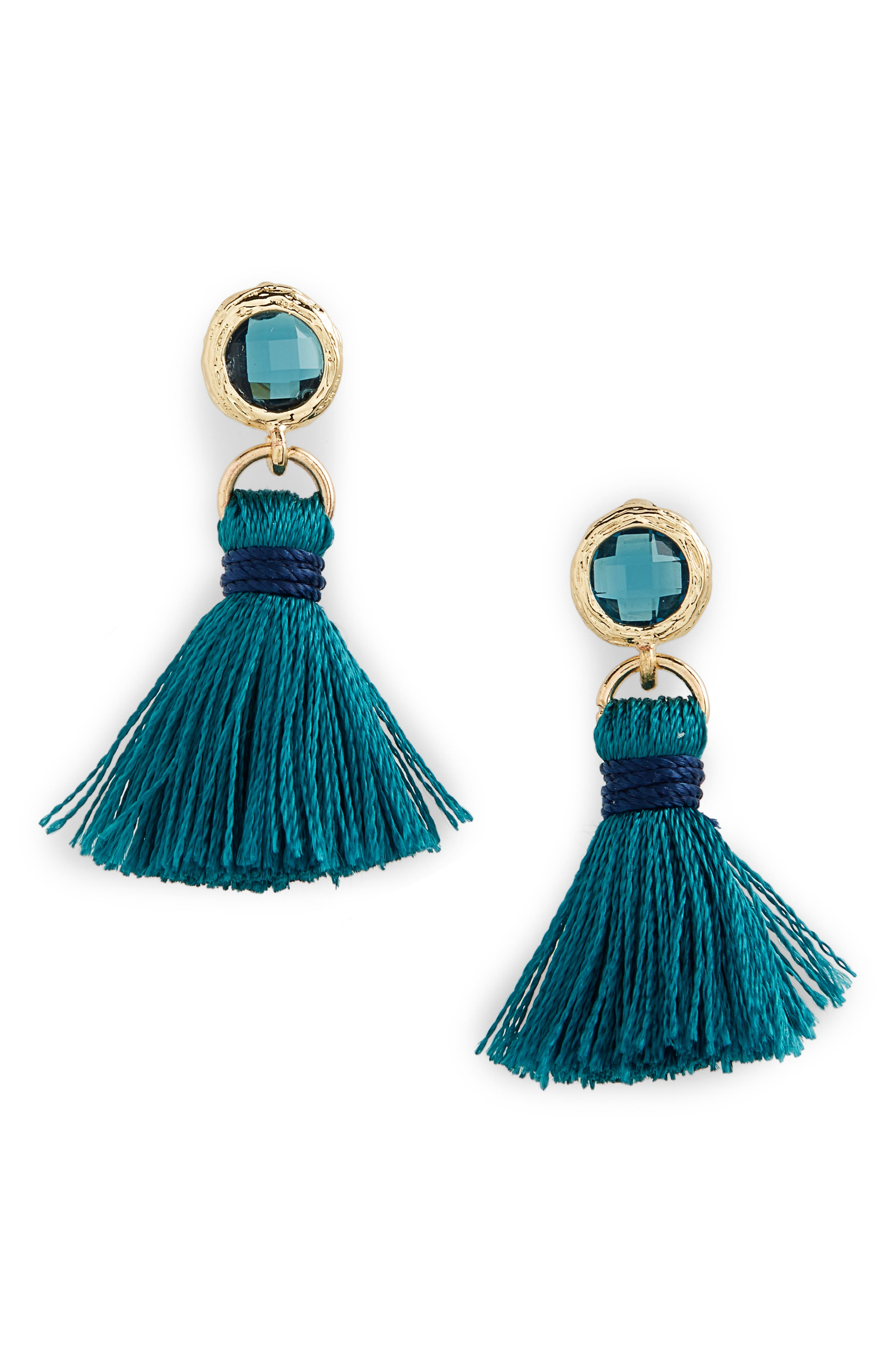 Mini Tassel Earrings,                             Main thumbnail 2, color,
