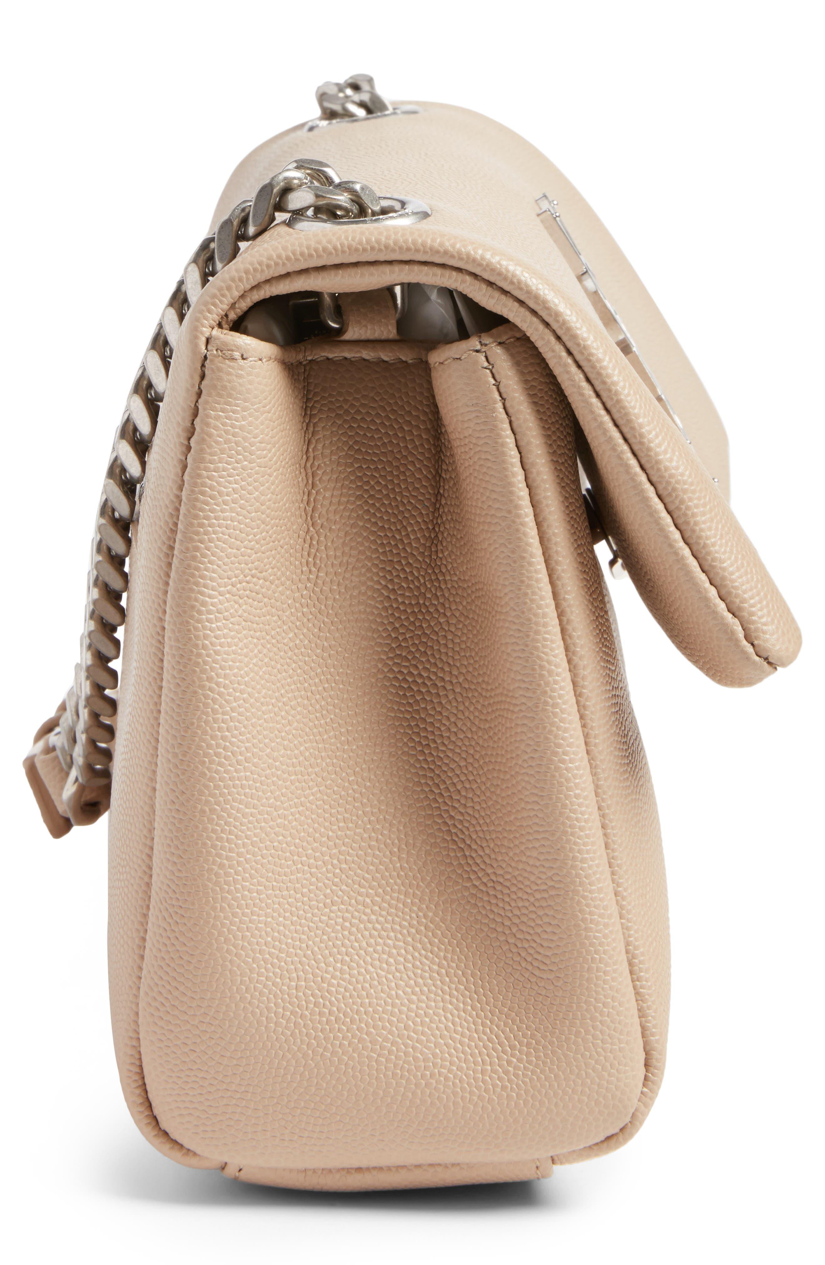 West Hollywood Calfskin Leather Messenger Bag,                             Alternate thumbnail 17, color,