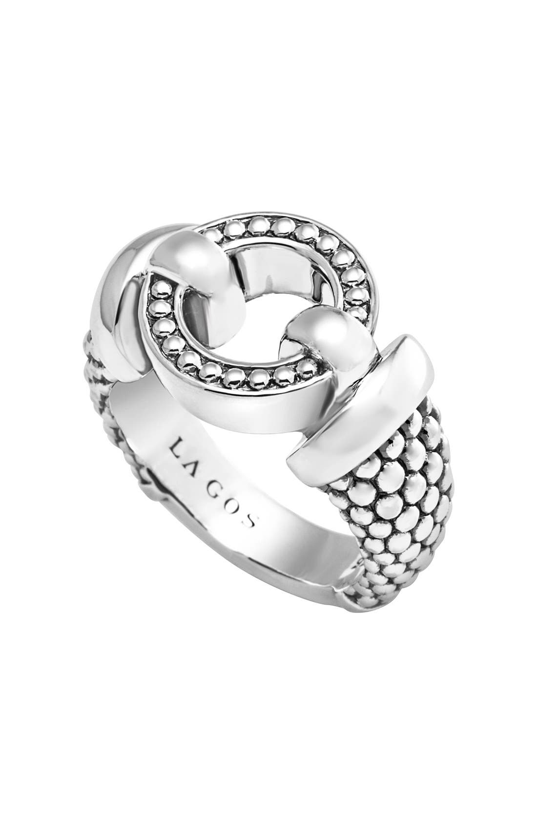 'Enso' Caviar<sup>™</sup> Ring,                         Main,                         color,