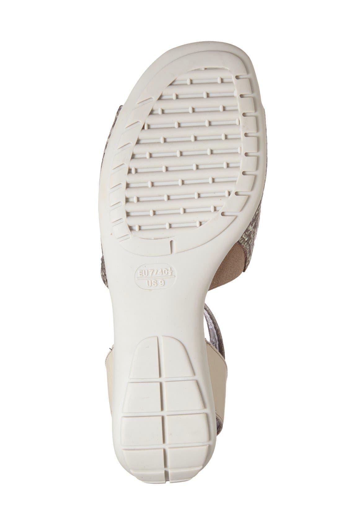 'Beglad' Leather Ankle Strap Sandal,                             Alternate thumbnail 63, color,