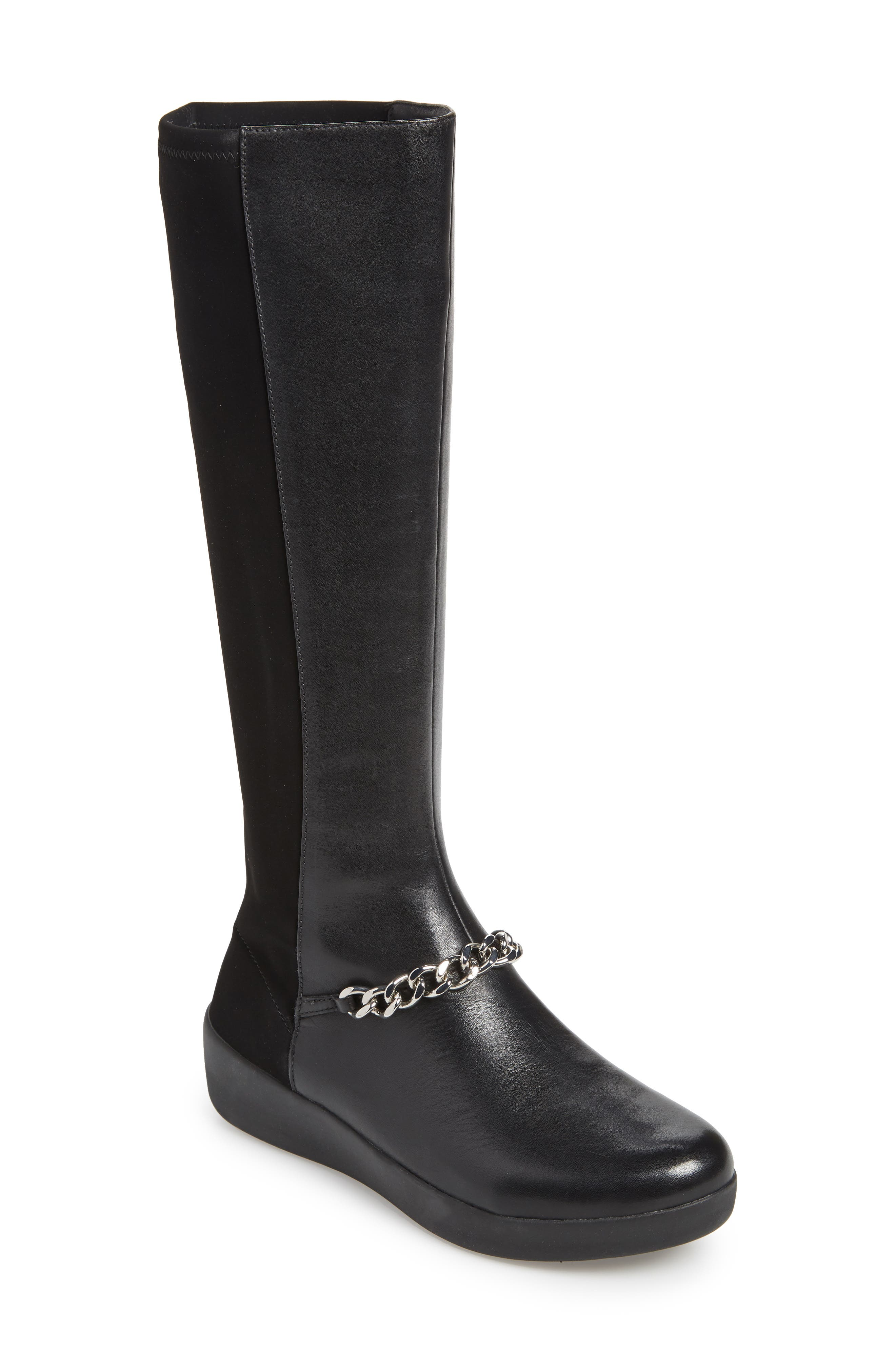 Fitflop Fifi Knee High Boot, Black