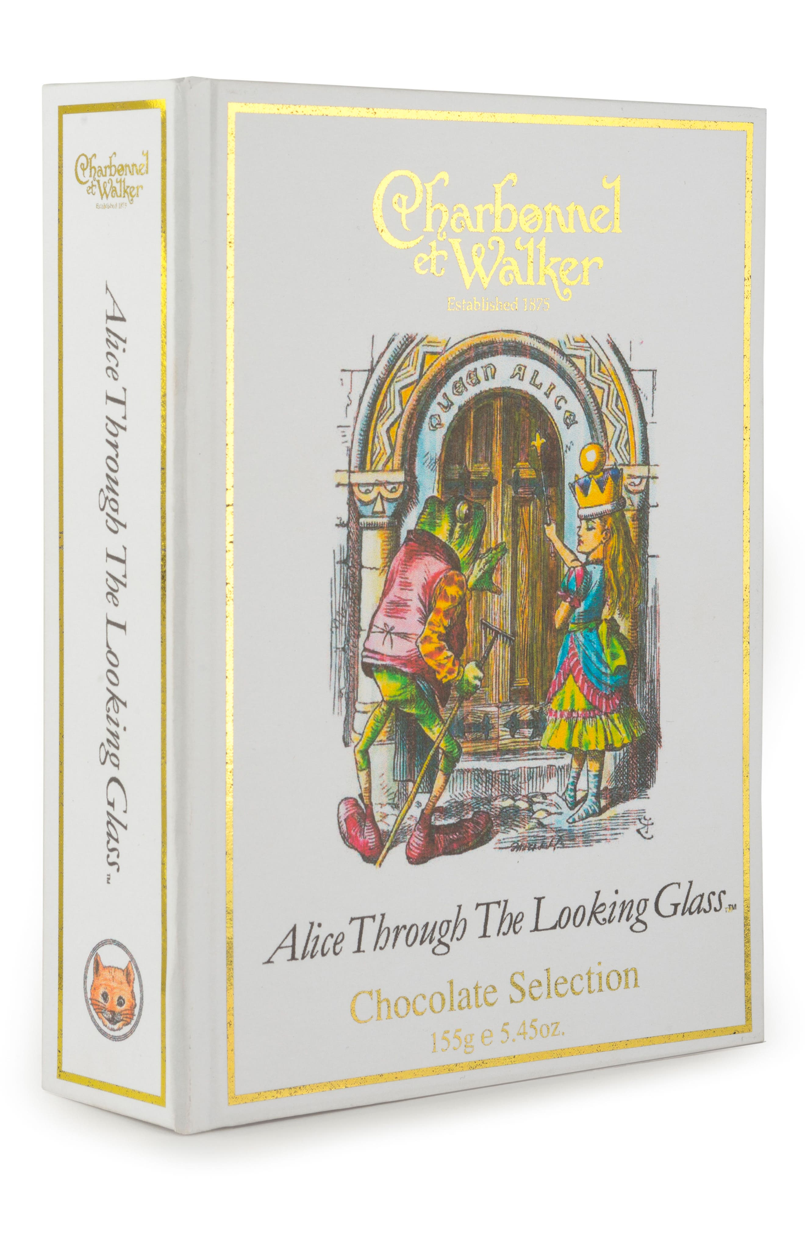 Fine Chocolate Selection in Alice Through the Looking Glass Gift Box,                             Alternate thumbnail 3, color,                             100