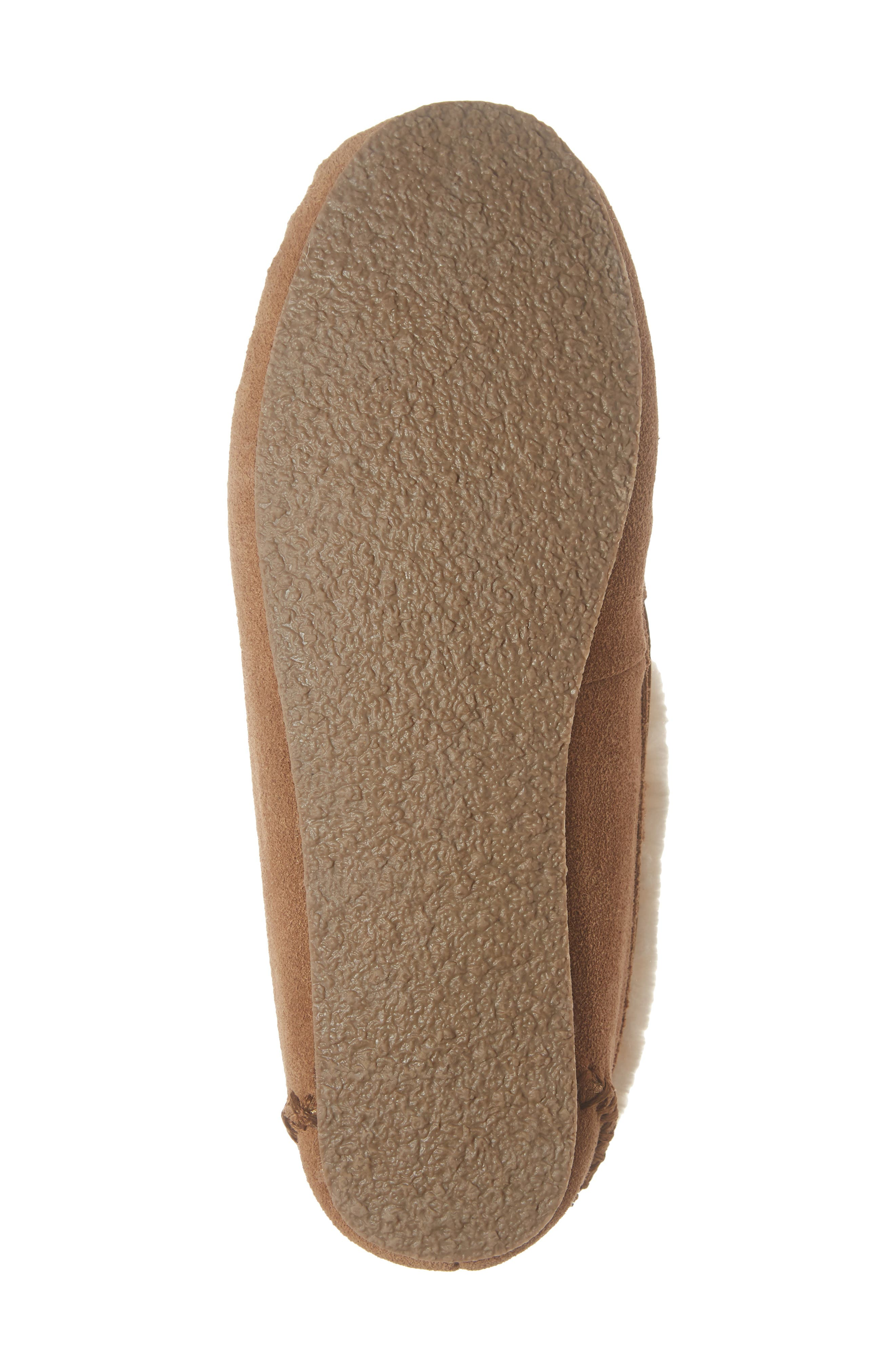 'Chrissy' Slipper Bootie,                             Alternate thumbnail 7, color,                             CINNAMON SUEDE