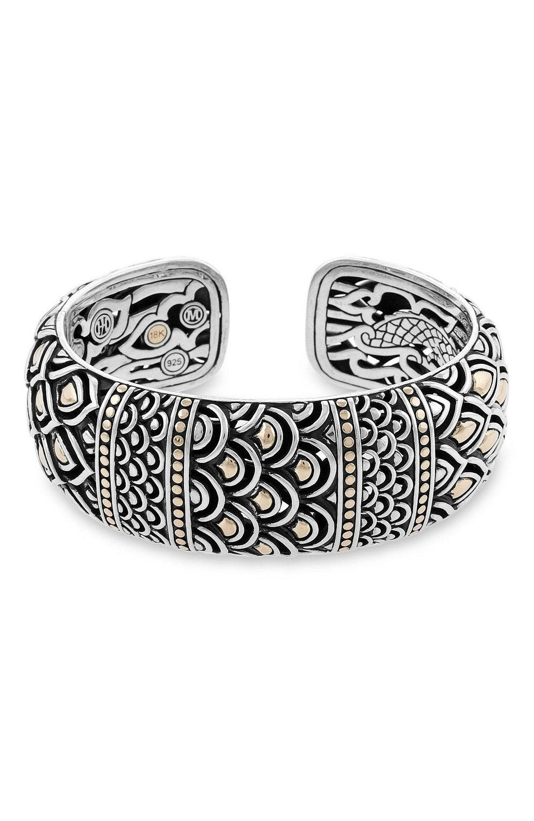 Naga Kick Cuff,                             Main thumbnail 1, color,                             SILVER GOLD