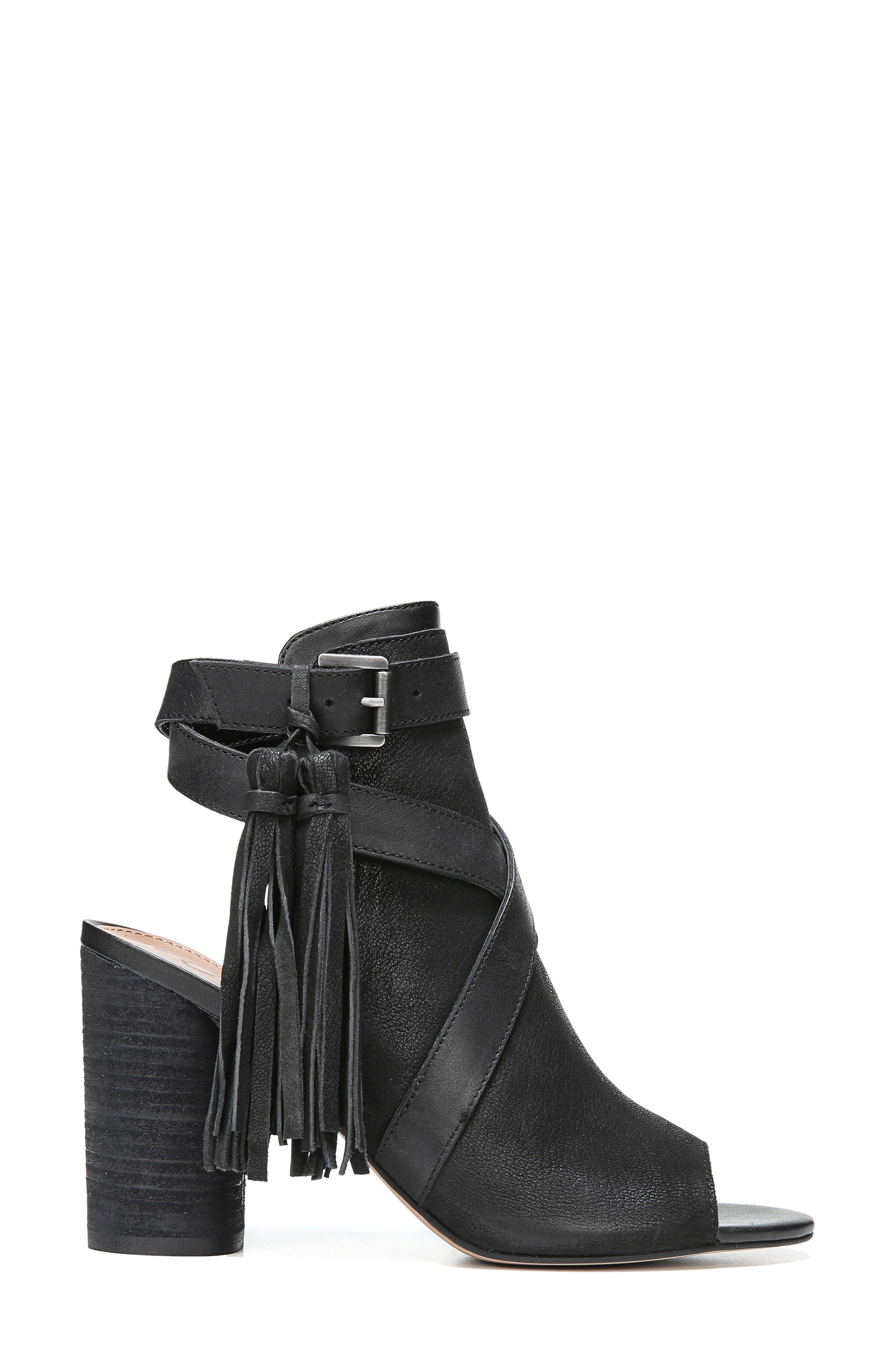 Vermont Block Heel Sandal,                             Alternate thumbnail 3, color,                             001
