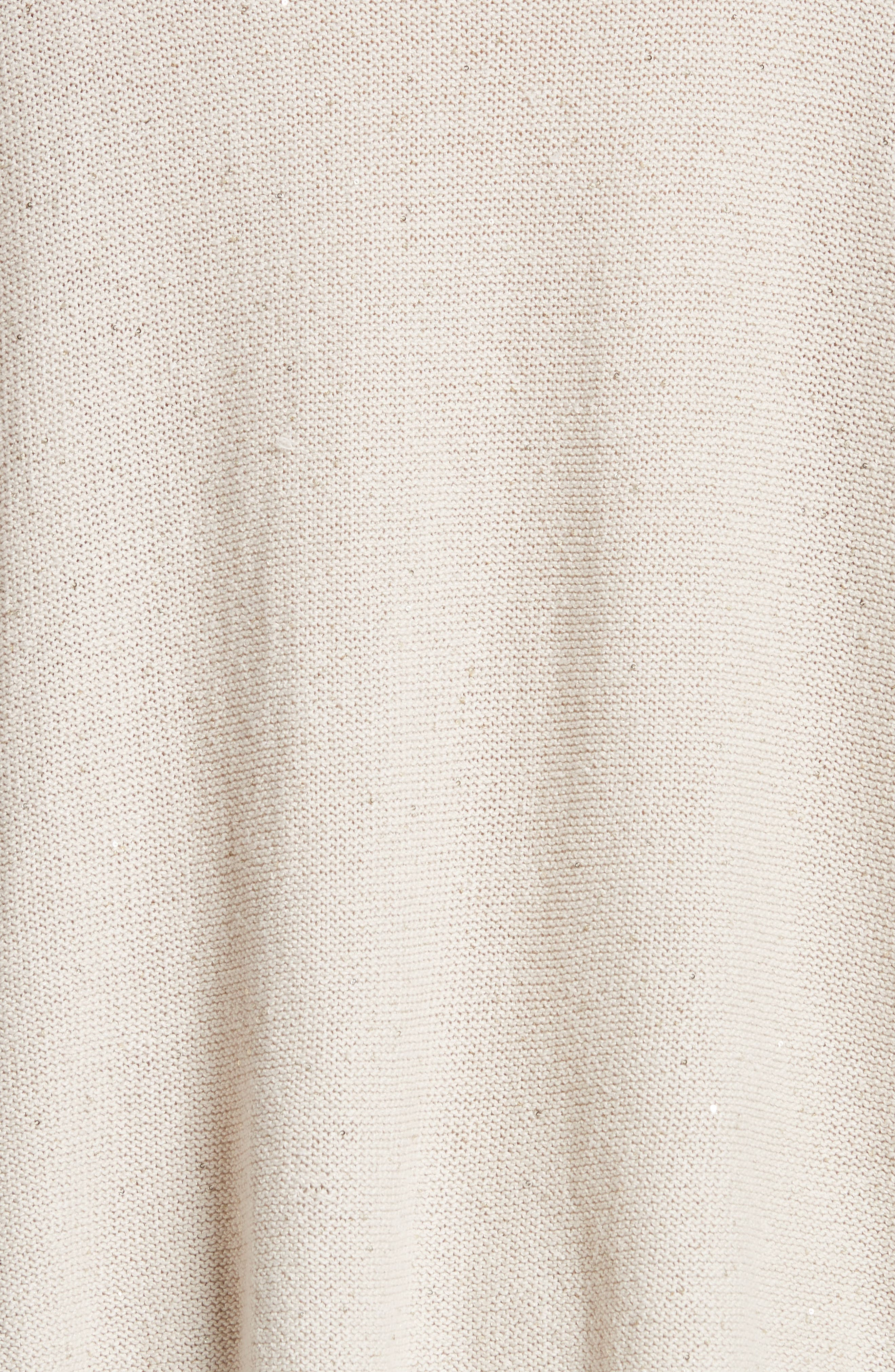 Sequin Knit Dolman Sweater,                             Alternate thumbnail 5, color,