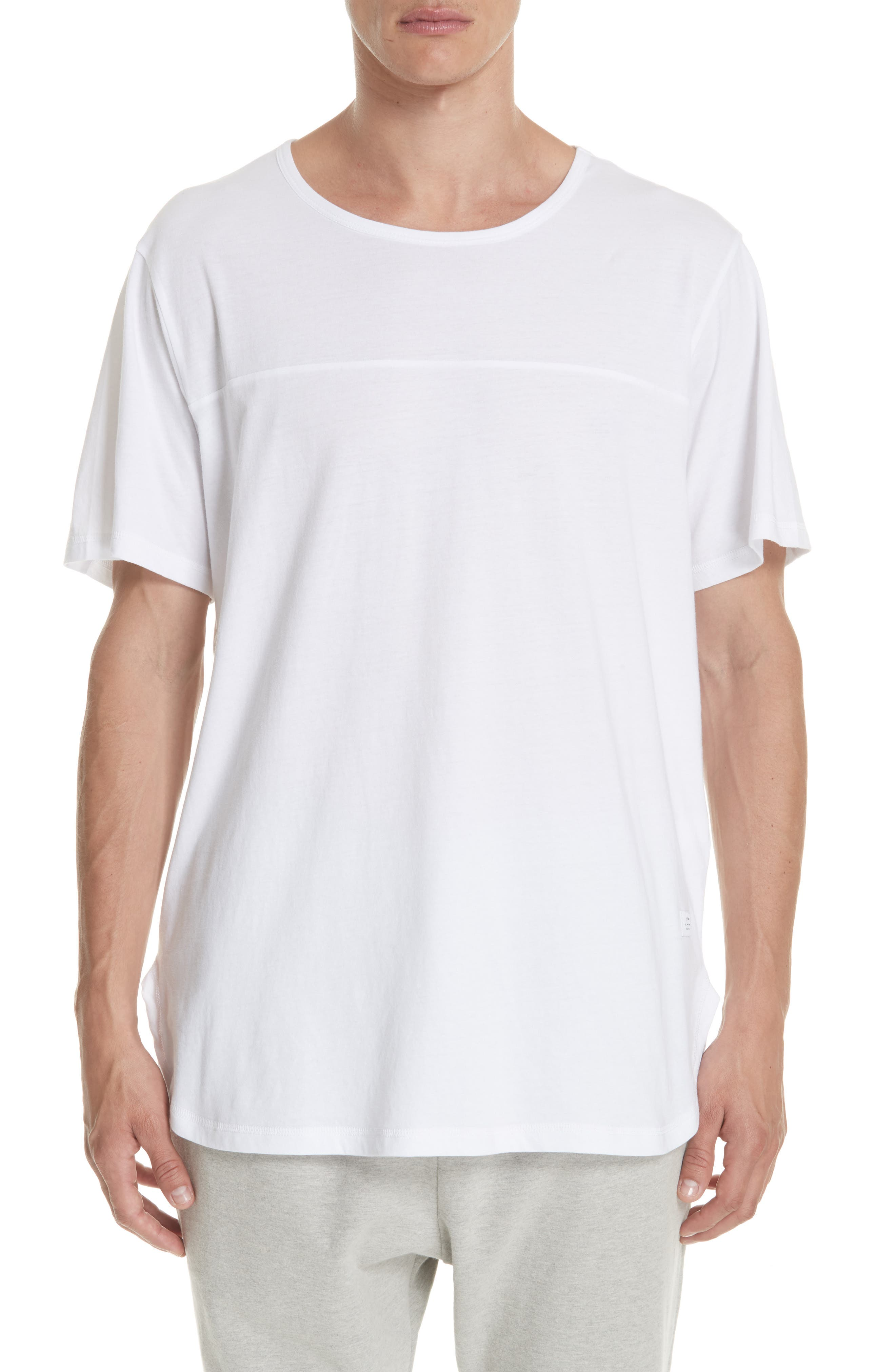 STAMPD Core Scallop T-Shirt in White