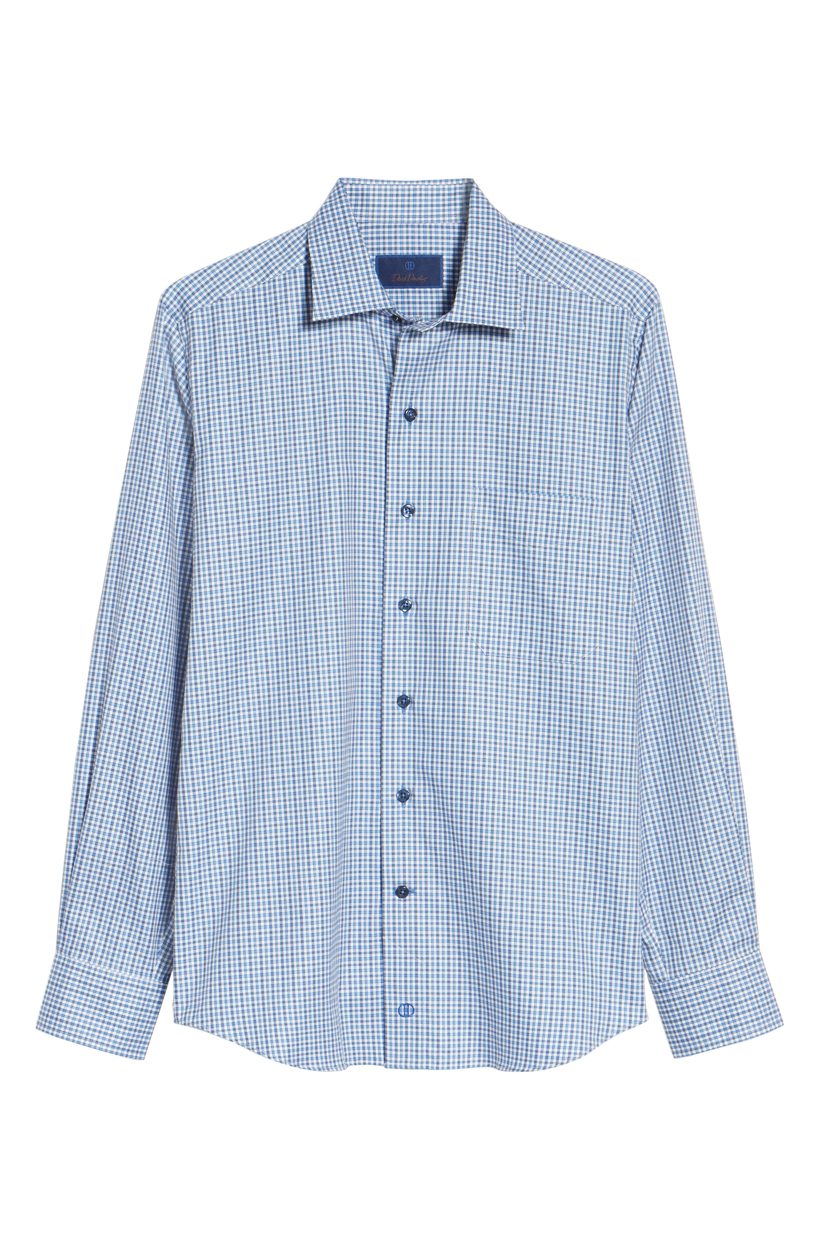 Plaid Regular Fit Sport Shirt,                             Alternate thumbnail 6, color,                             423