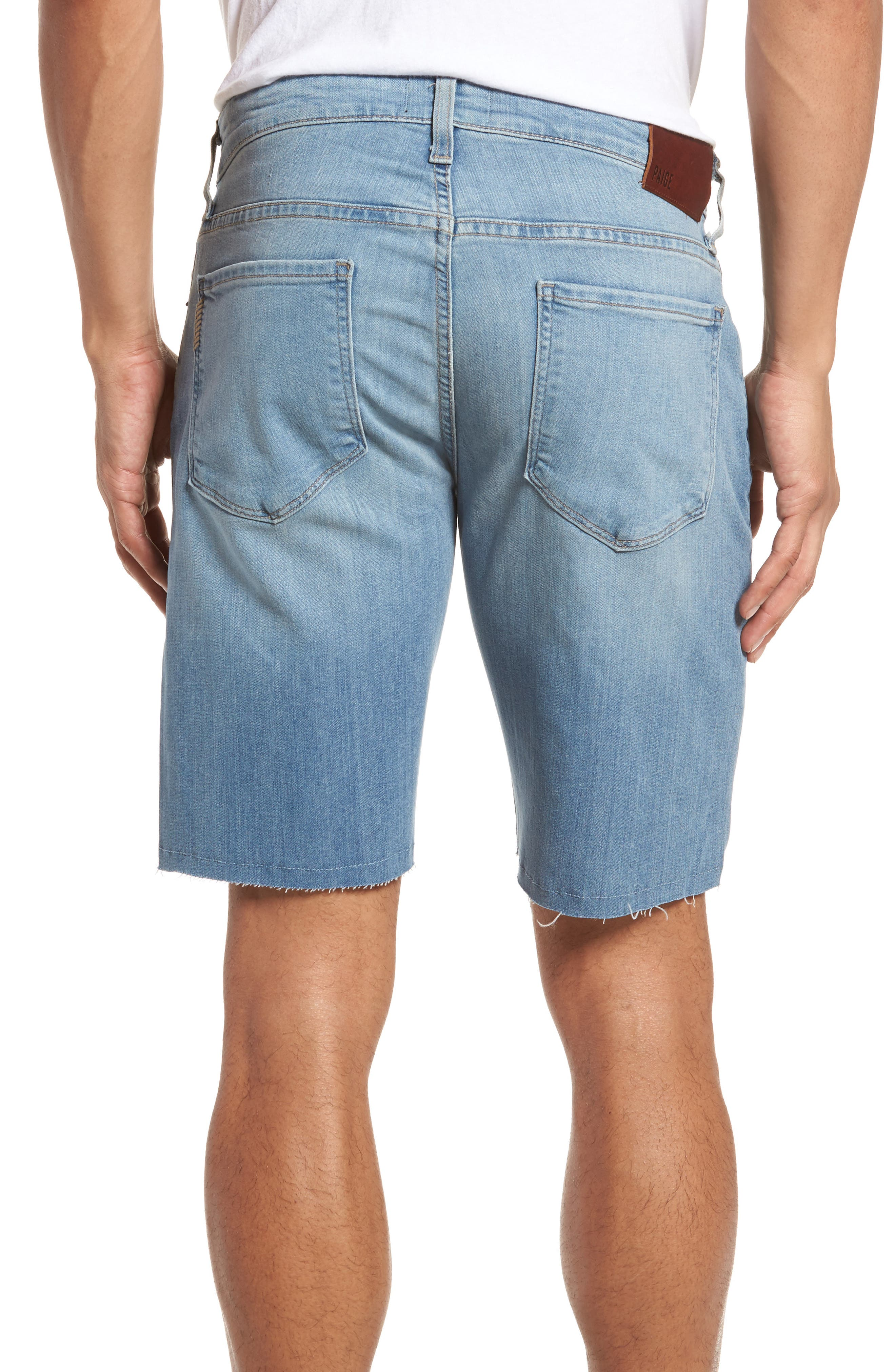 Transcend - Federal Slim Straight Leg Denim Shorts,                             Alternate thumbnail 2, color,                             400