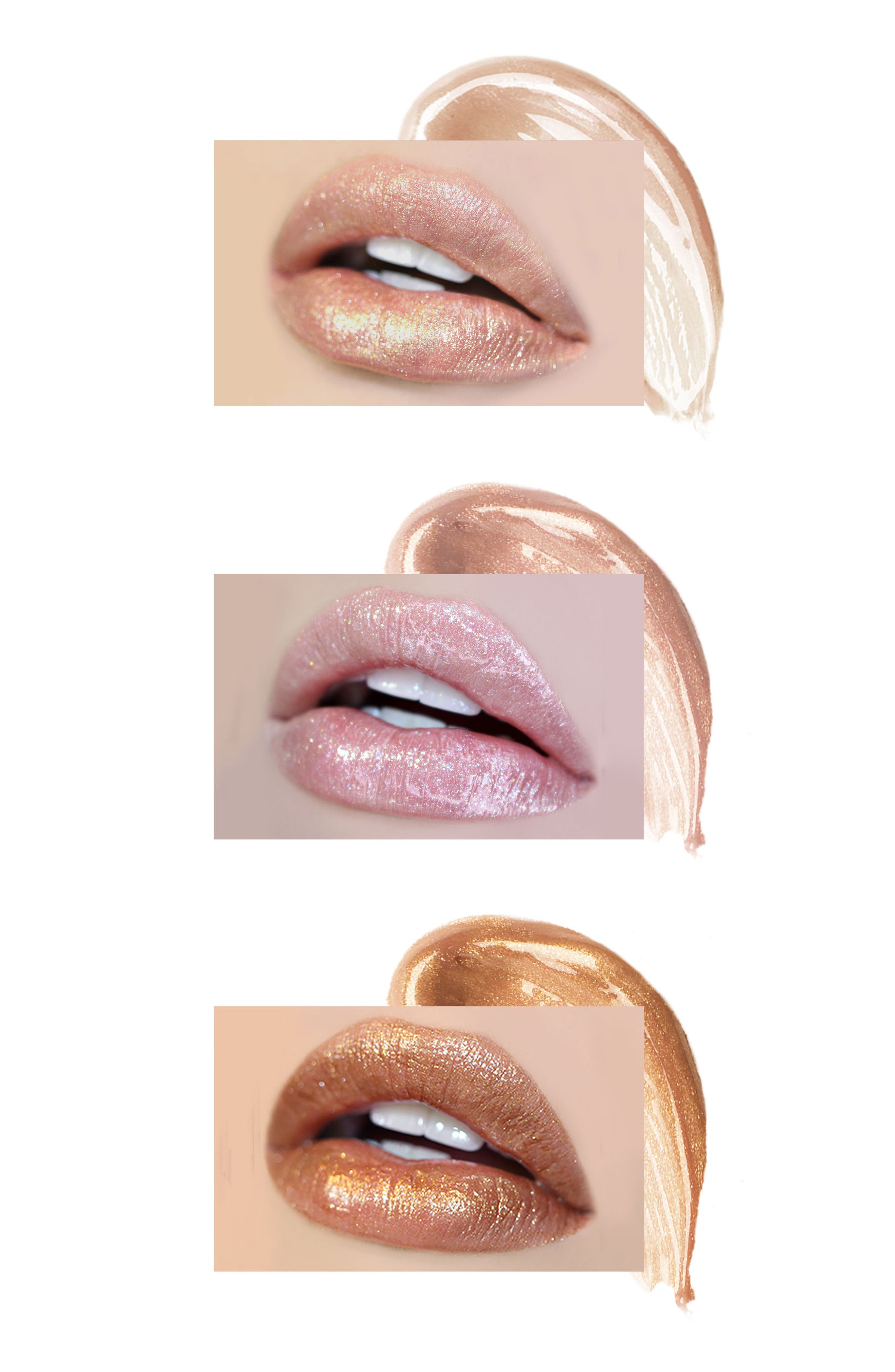 Best of Lip Toppers Mini Long-Wear Lip Topper Collection,                             Alternate thumbnail 4, color,