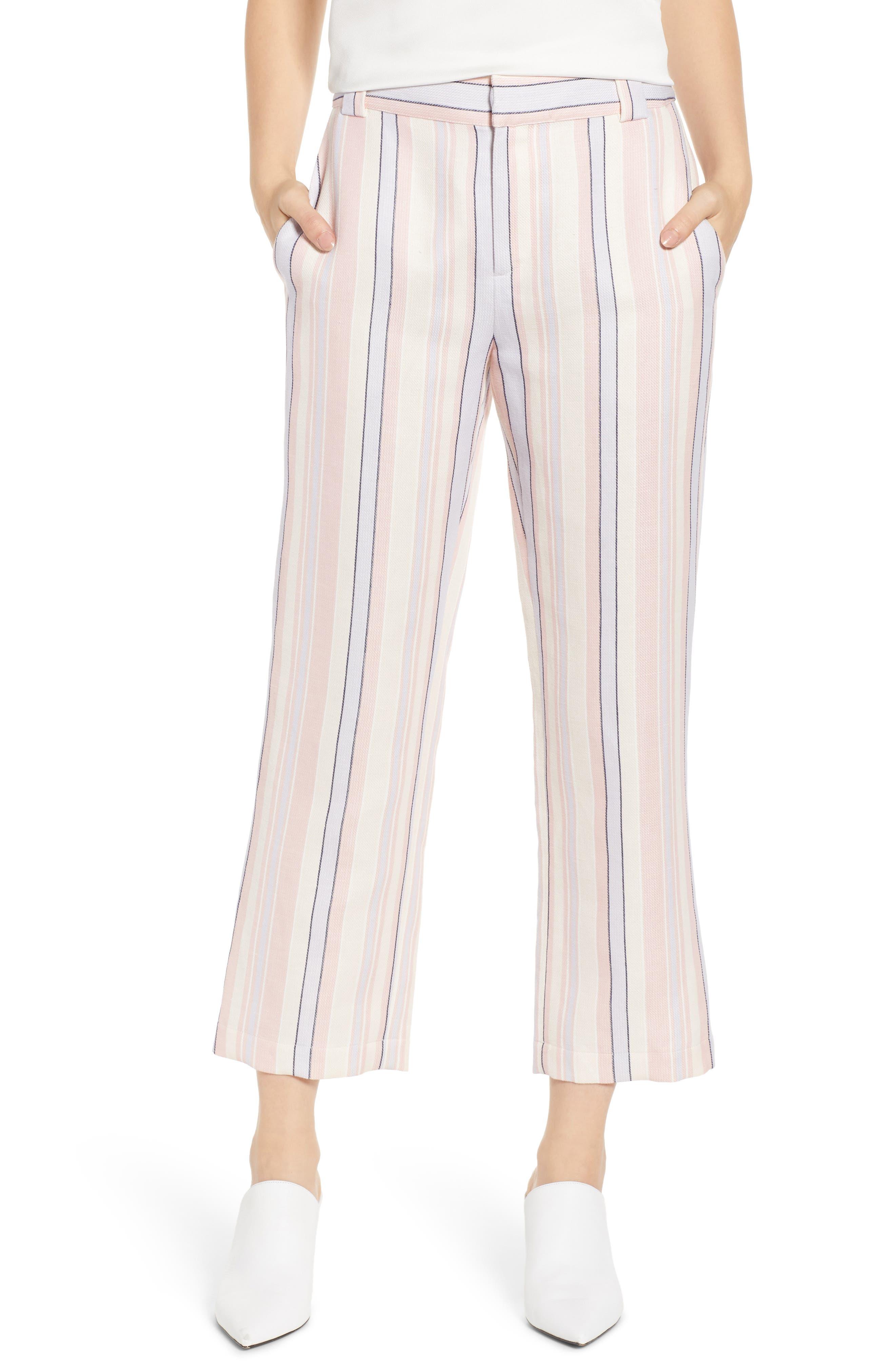 Ginger Stripe Pants, Main, color, MULTI