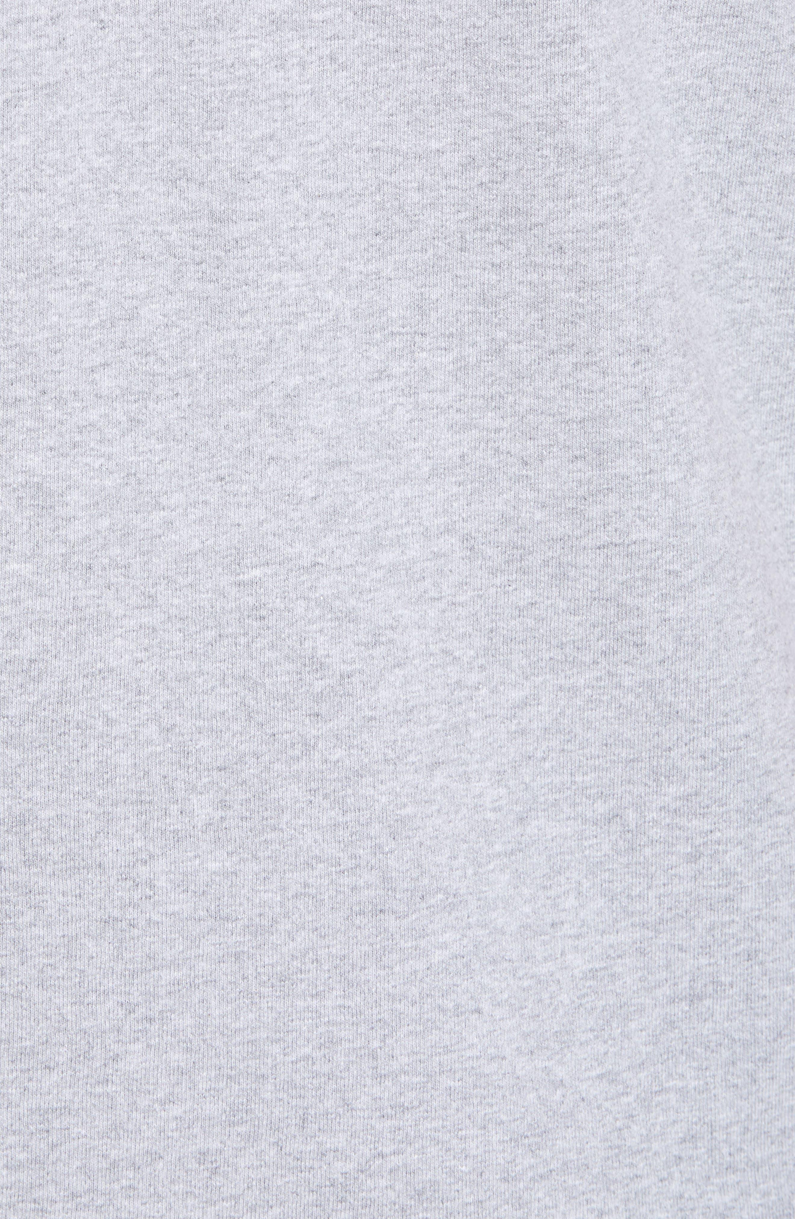 Fitz Roy Trout Crewneck T-Shirt,                             Alternate thumbnail 5, color,                             DRIFTER GREY