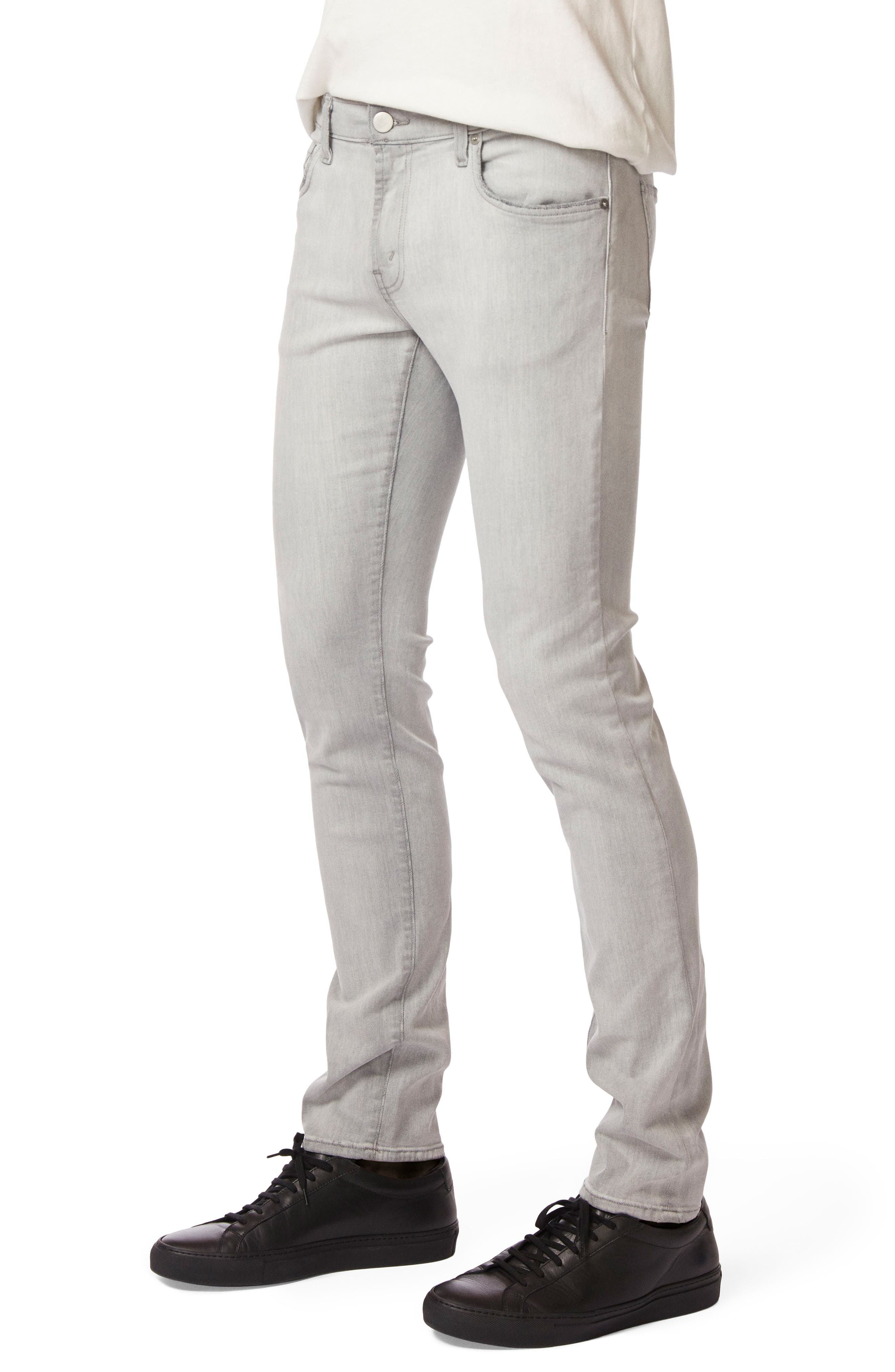 Mick Skinny Fit Jeans,                             Alternate thumbnail 3, color,                             BACKSTRIPE