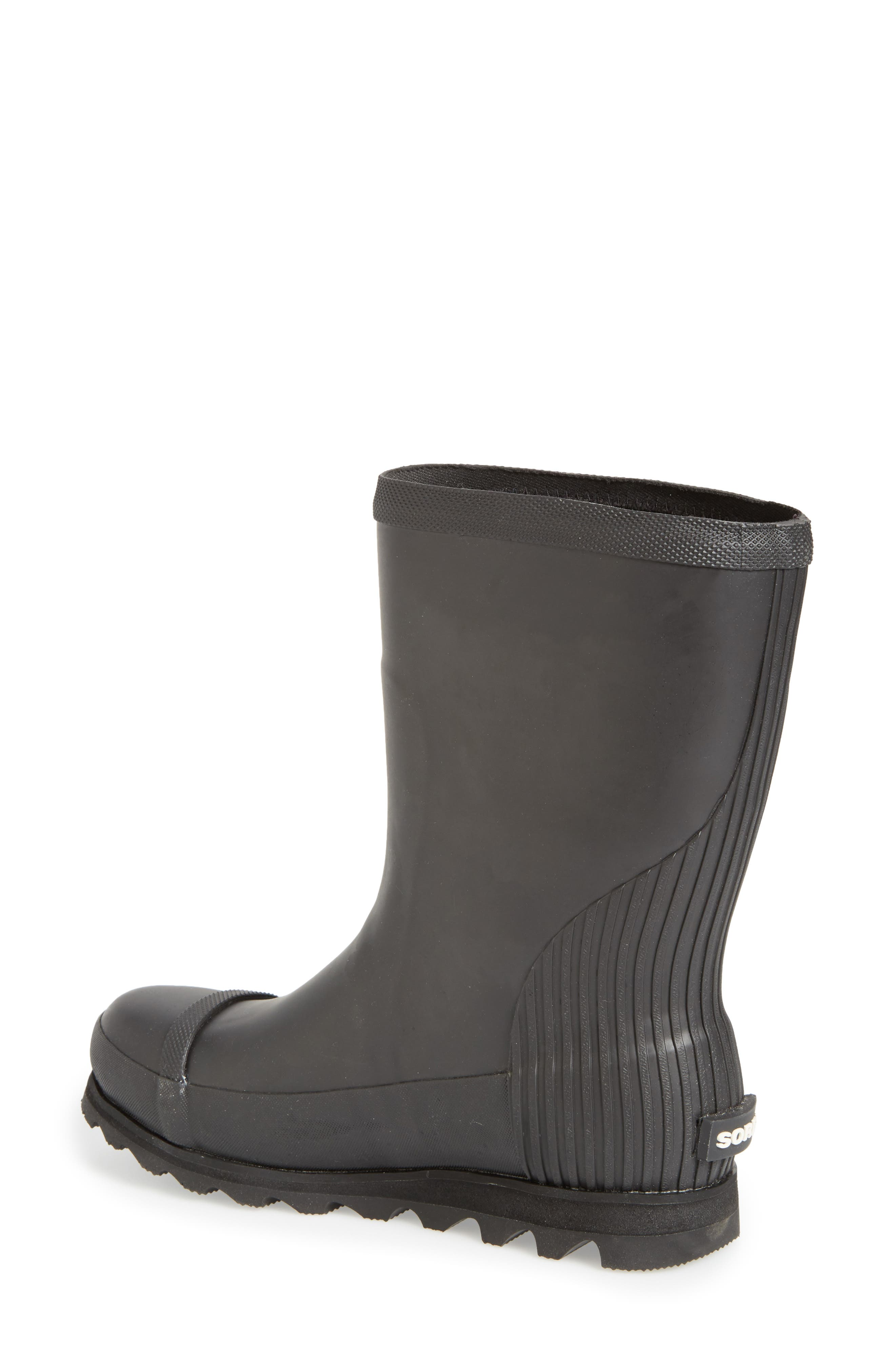Joan Short Rain Boot,                             Alternate thumbnail 2, color,                             010