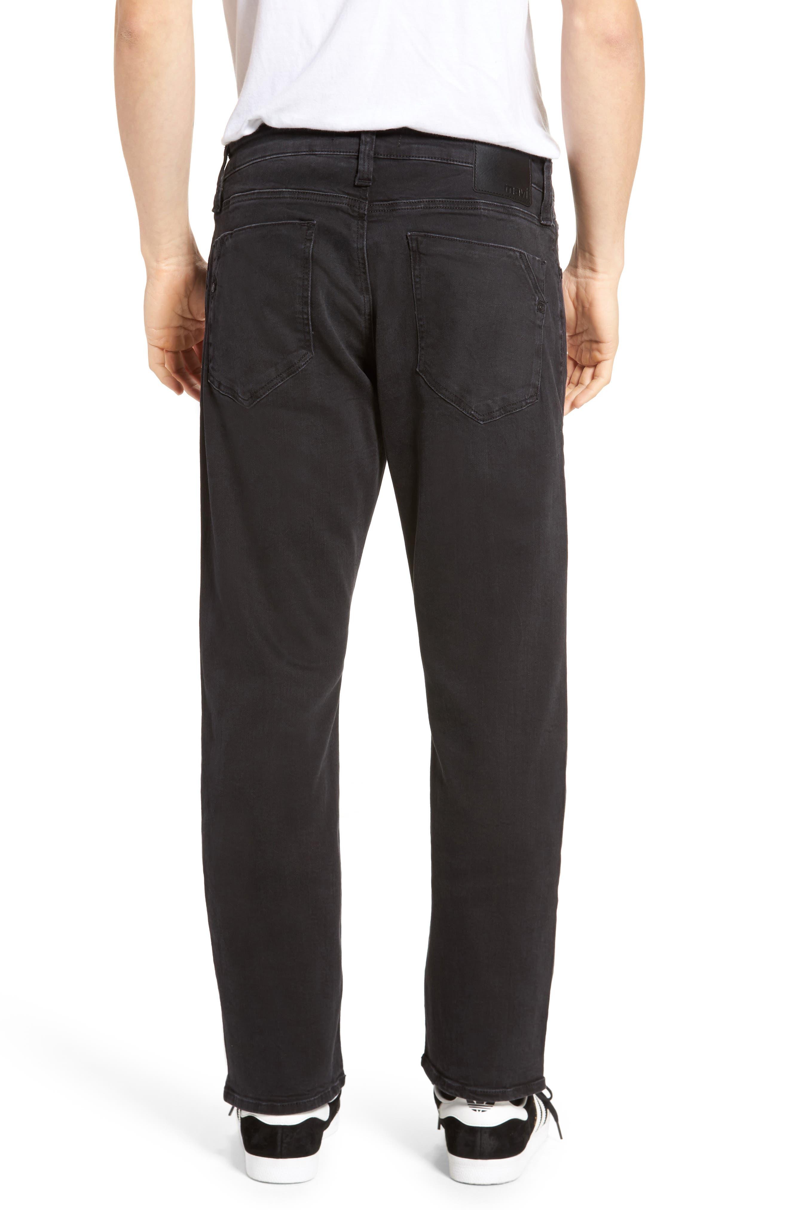 Zach Straight Fit Jeans,                             Alternate thumbnail 2, color,                             050