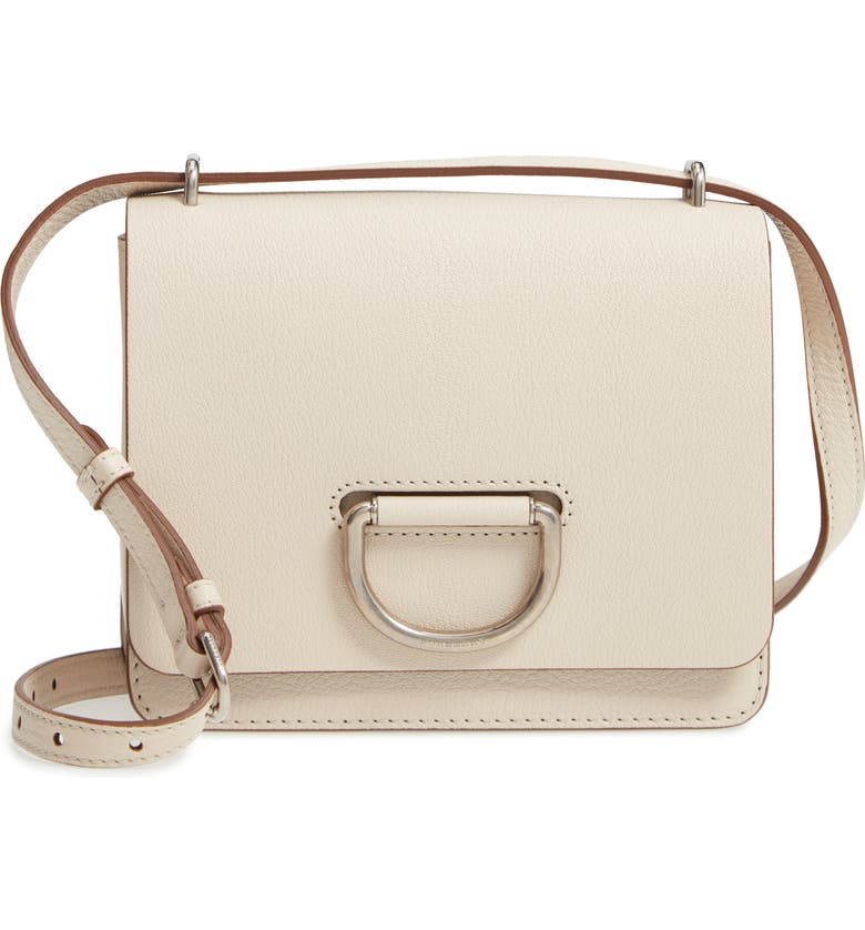Burberry Small D-Ring Leather Crossbody Bag In Stone  5c5ea927900d9