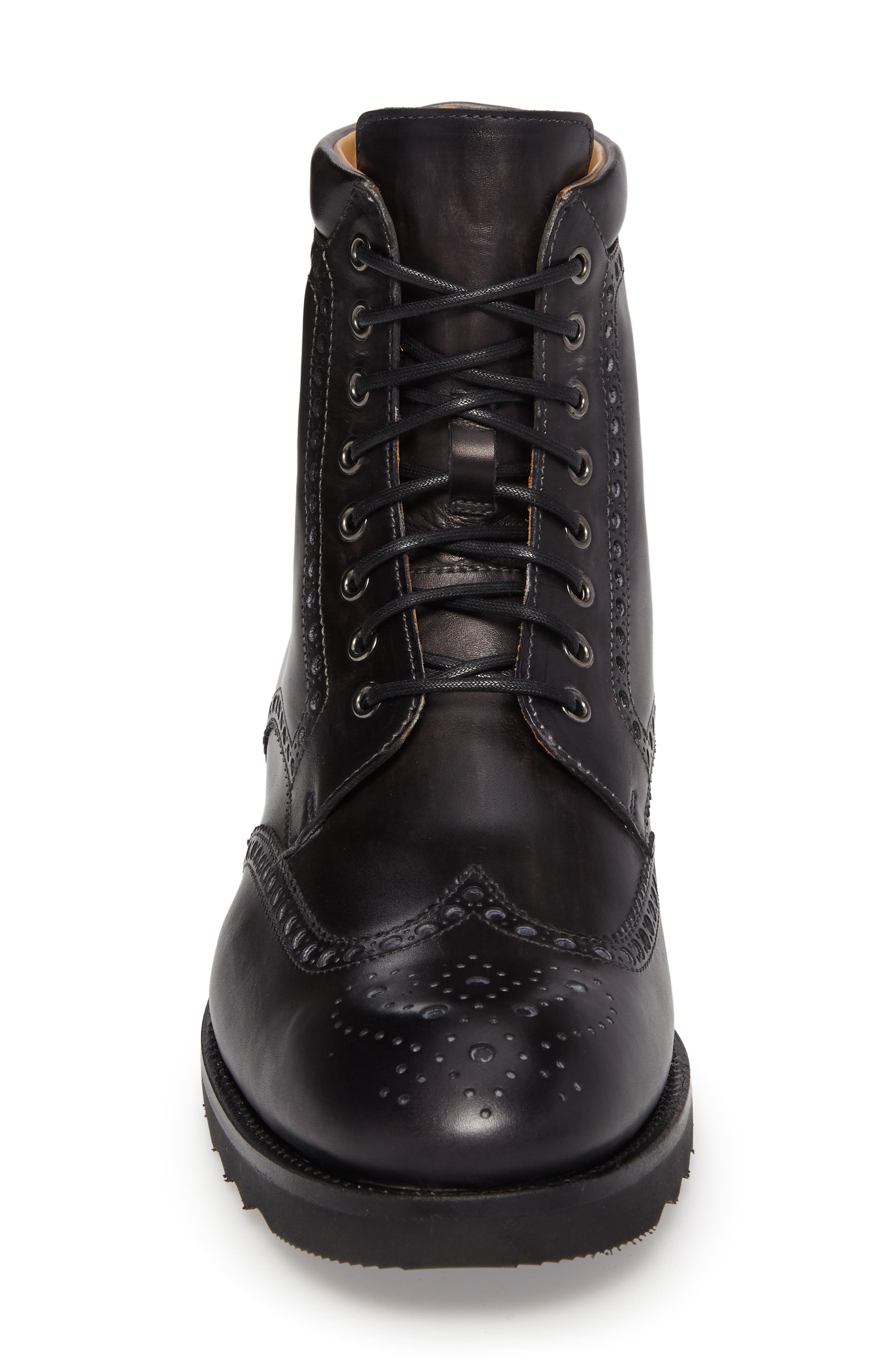 Fairfax Wingtip Boot,                             Alternate thumbnail 4, color,                             020