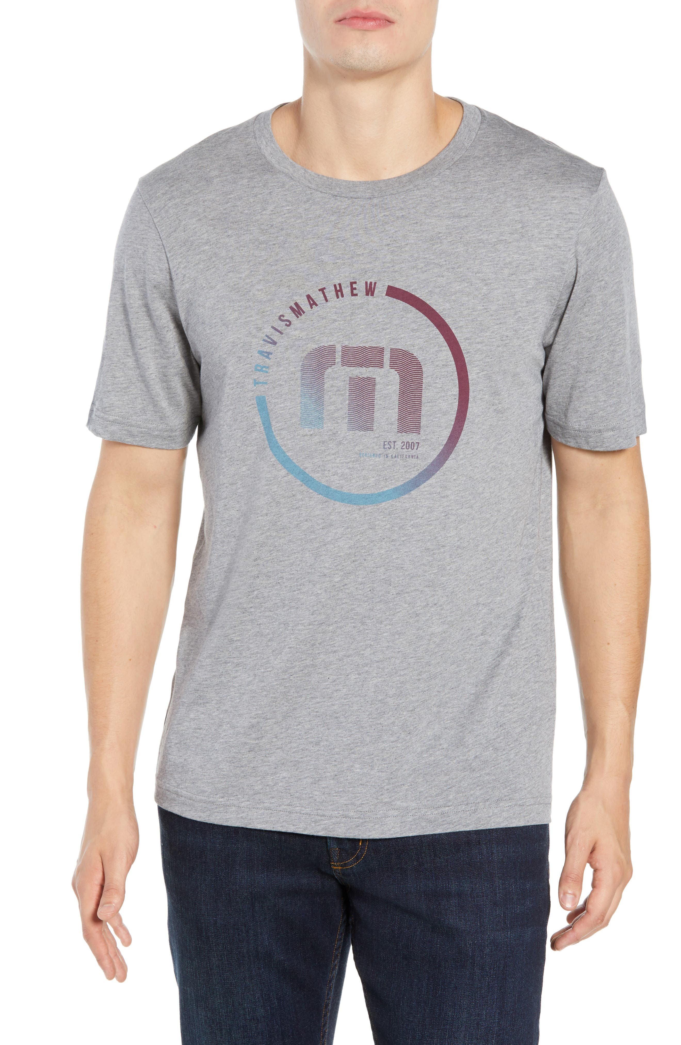 Airheads T-Shirt,                         Main,                         color, HEATHER GREY
