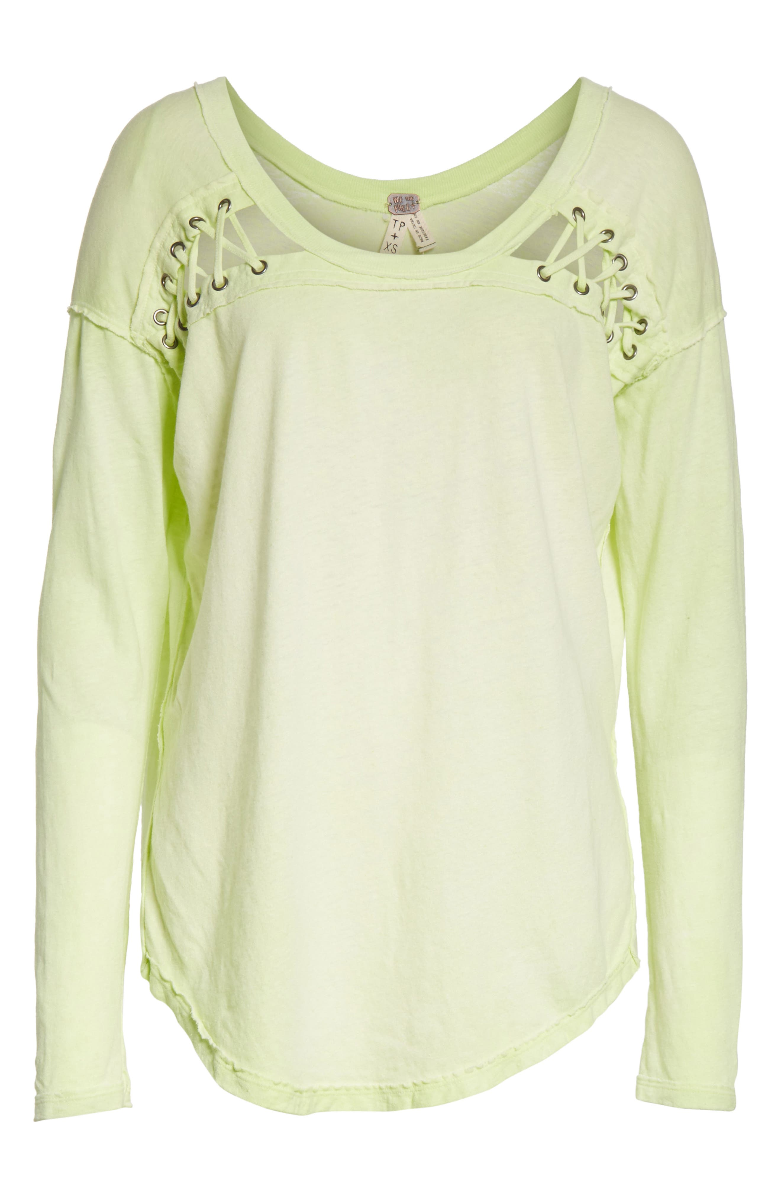 First Love Lace-Up Tee,                             Alternate thumbnail 28, color,